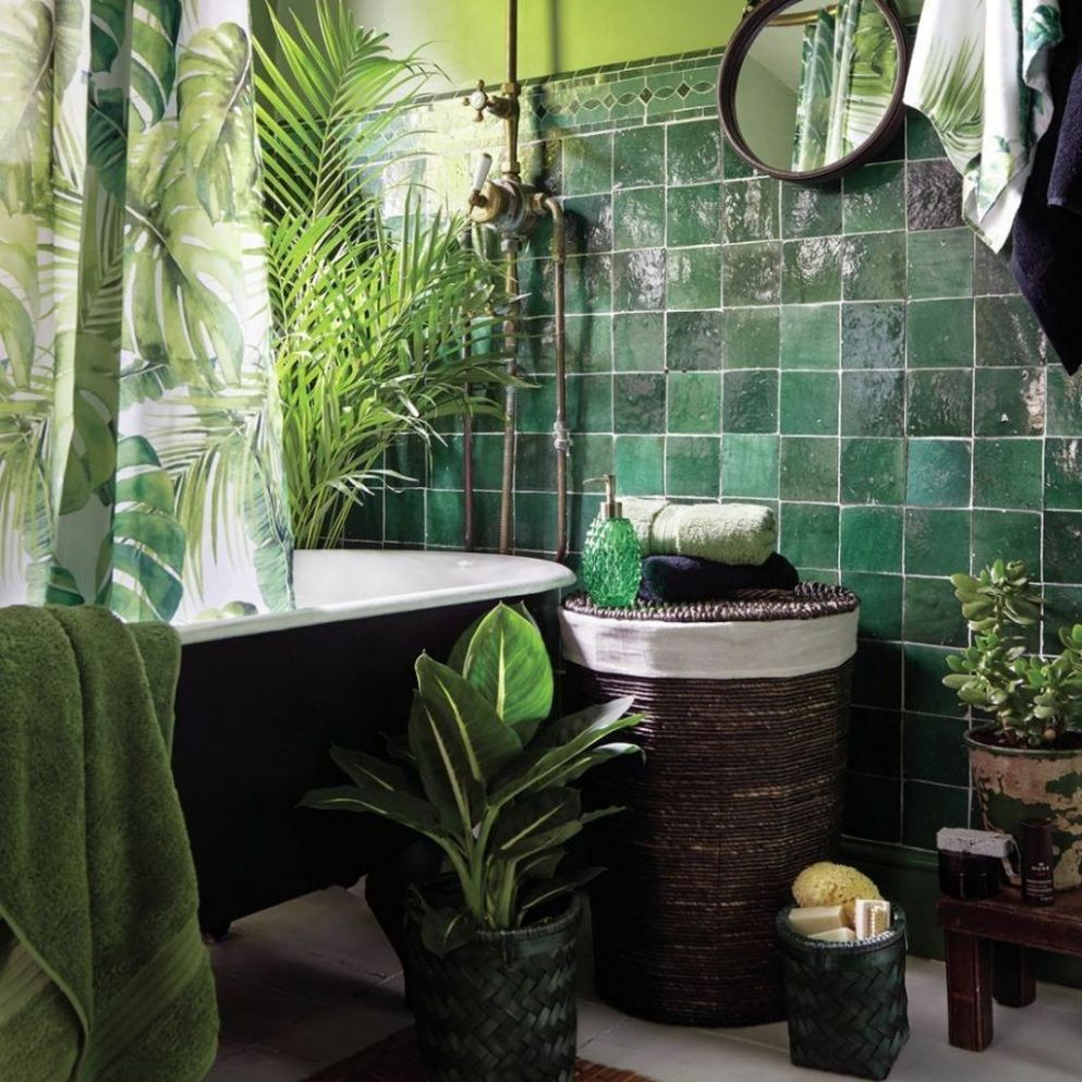 9 The Best Jungle Bathroom Decor Ideas To Get a Natural ...