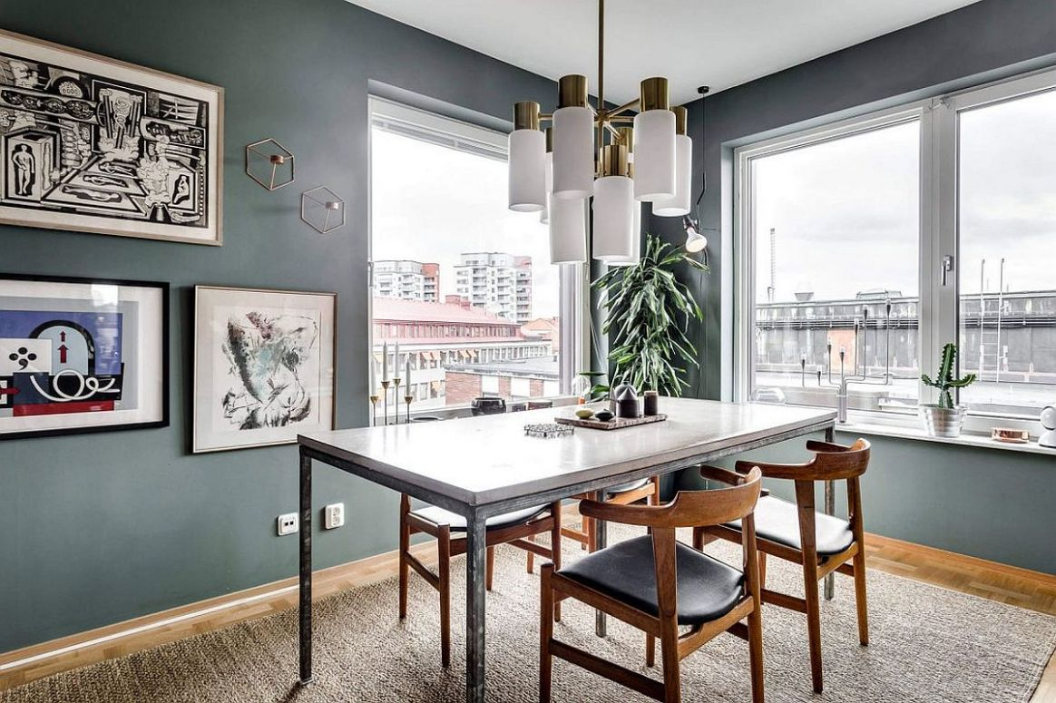 9 Tiny Apartment Dining Rooms that Save Space and Multitask!