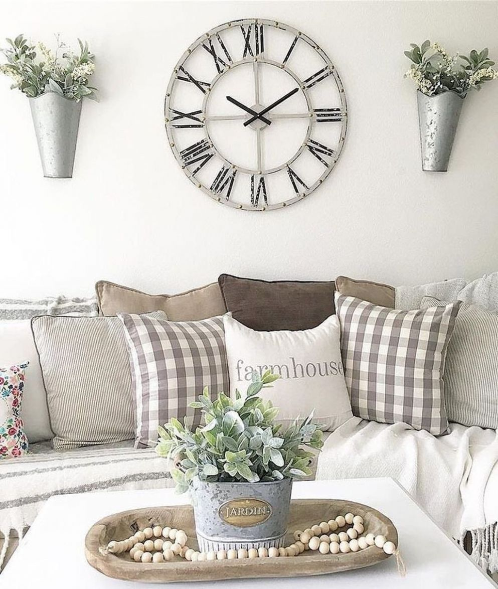 9 Unique Wall Decor Ideas With Clocks (With images) | Living ..