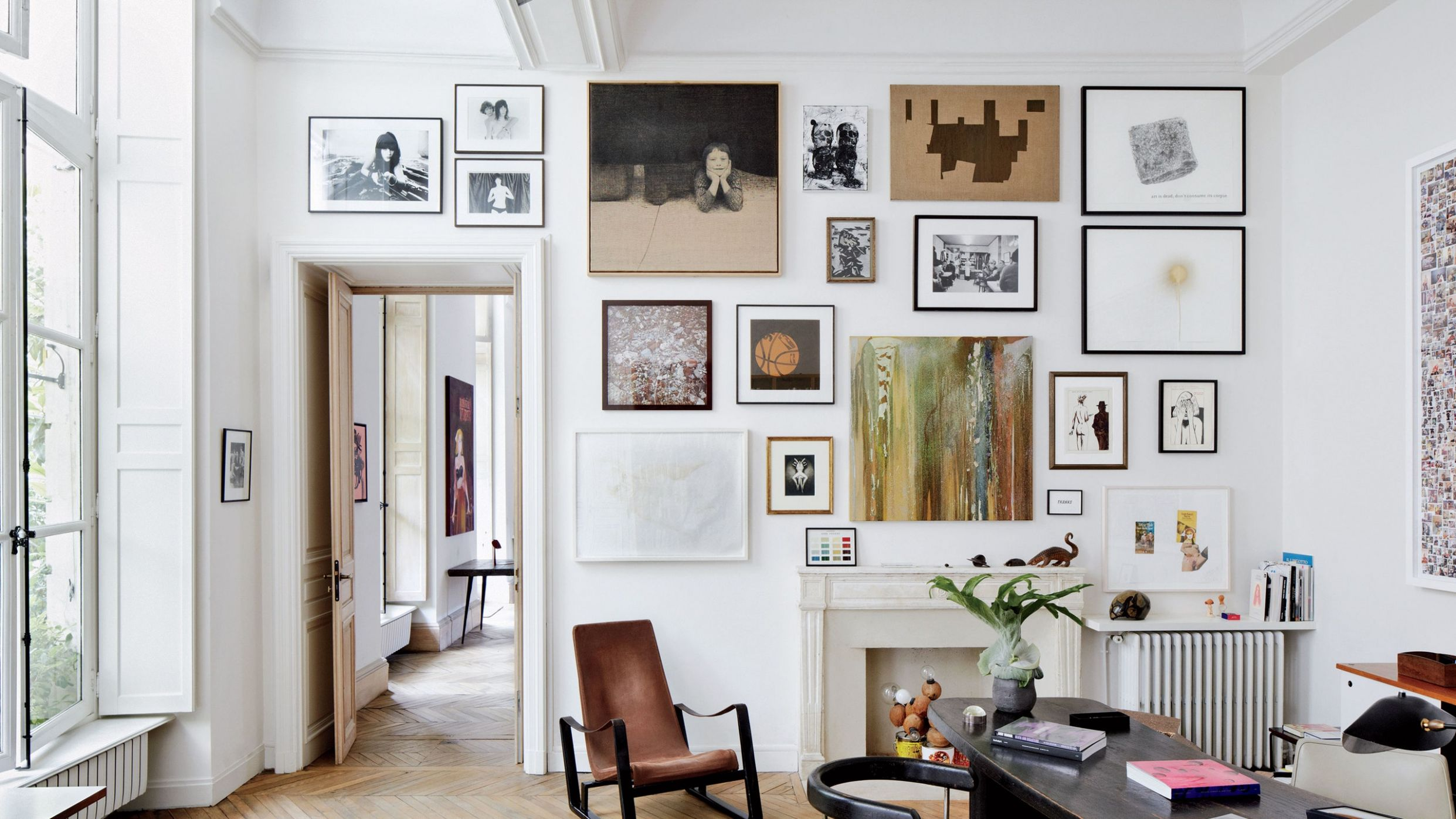 9 Wall Decor Ideas to Refresh Your Space | Architectural Digest - wall decor ideas for office