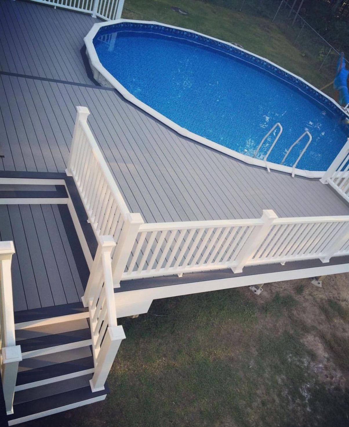 9s of Deck Railing Ideas and Designs | Decks around pools ..