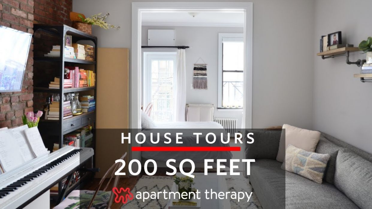 A 12-Square-Foot Studio | House Tours | Apartment Therapy - tiny apartment design under 200 sf