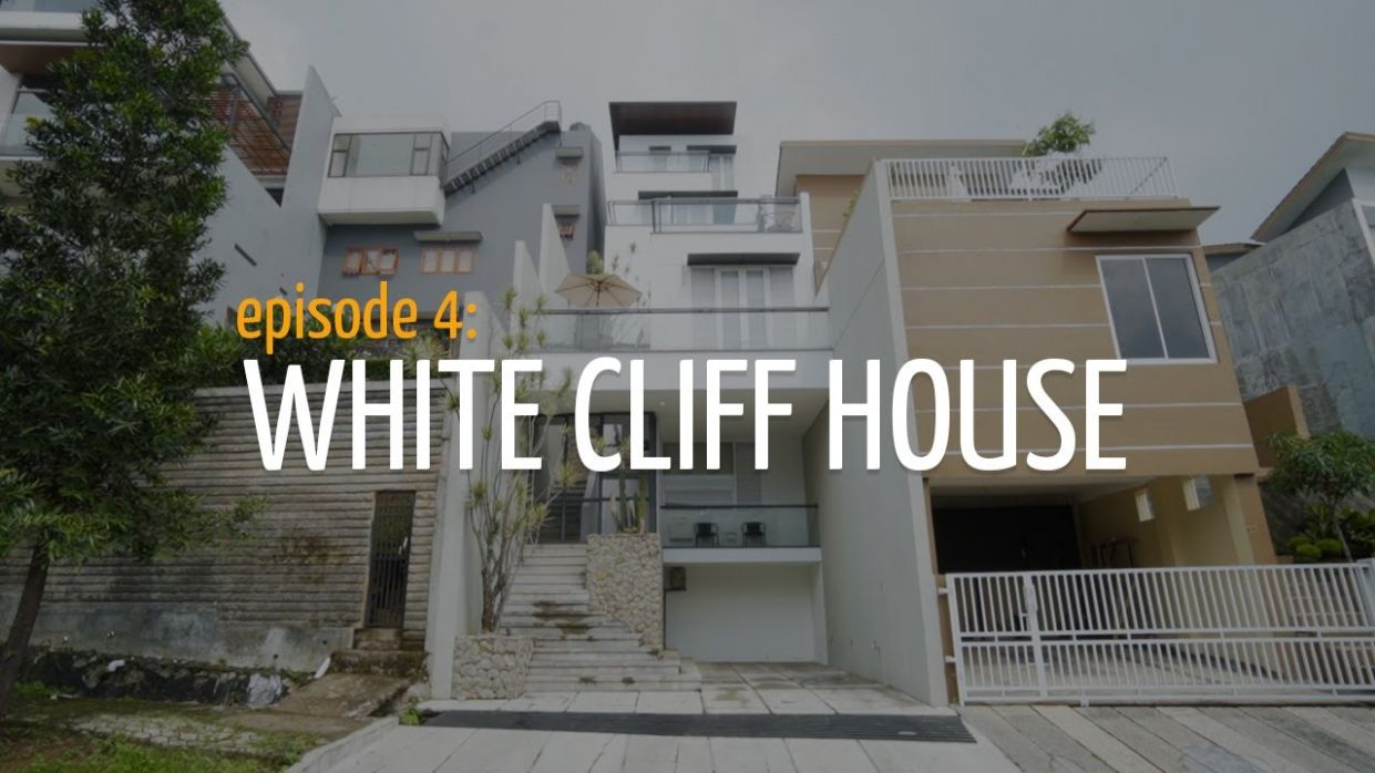 A 8,8 meter wide-house on a cliff in Bandung | House Feel Home Ep