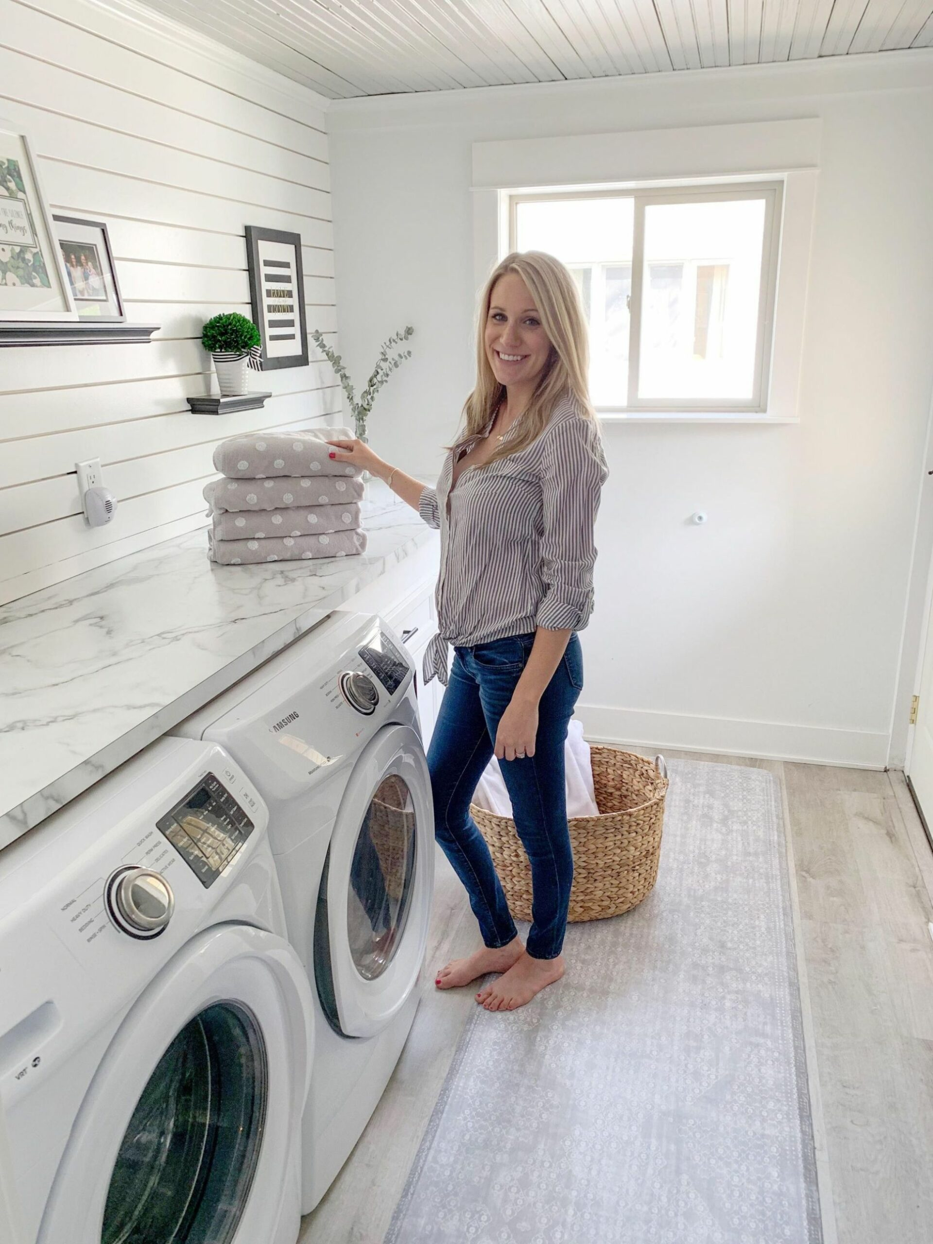 A Fresh and Clean Laundry Room with Namamat | Laundry room ...