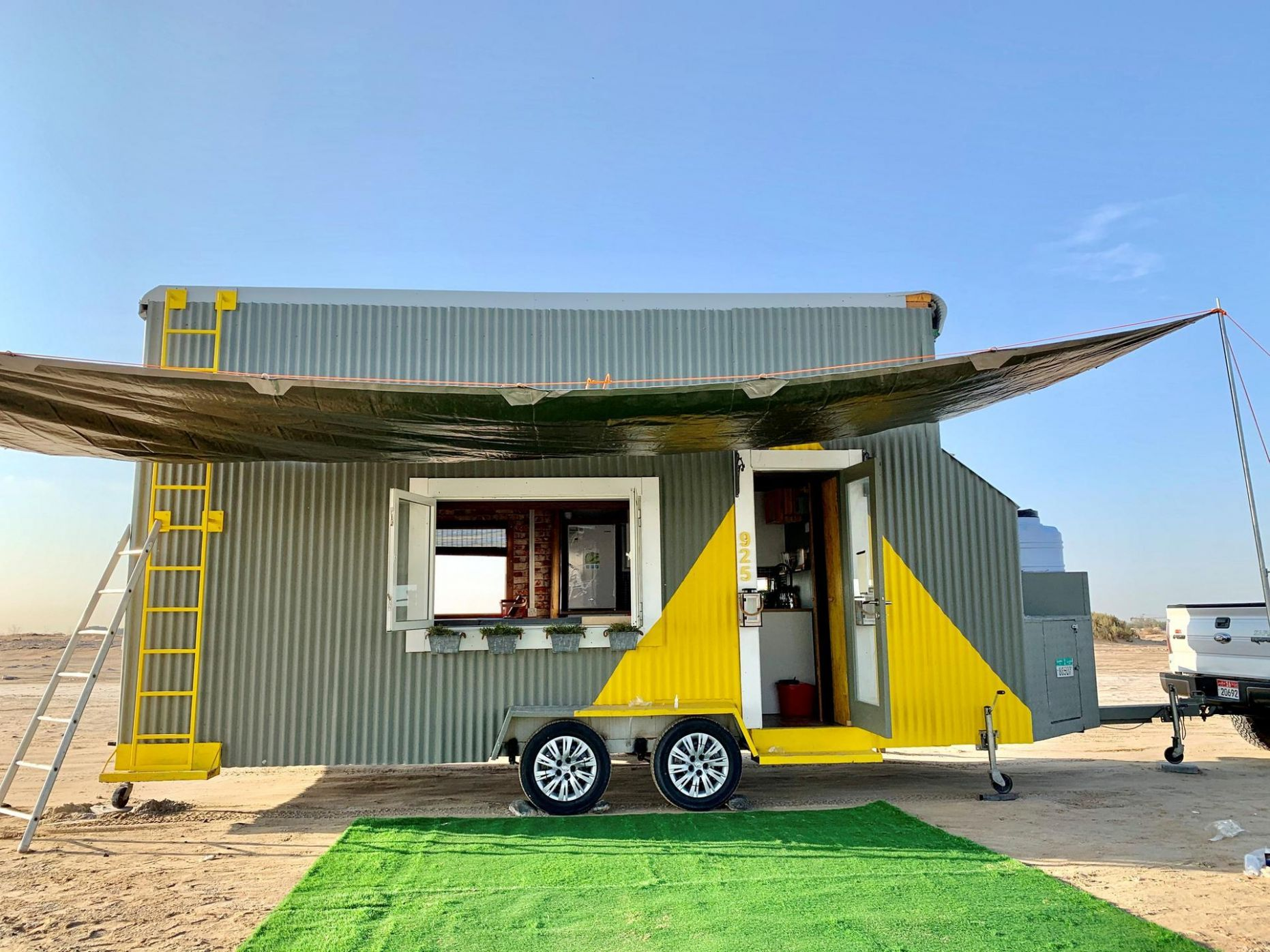 A labour of love: inside Abu Dhabi's Dh9,9 tiny house - The ...