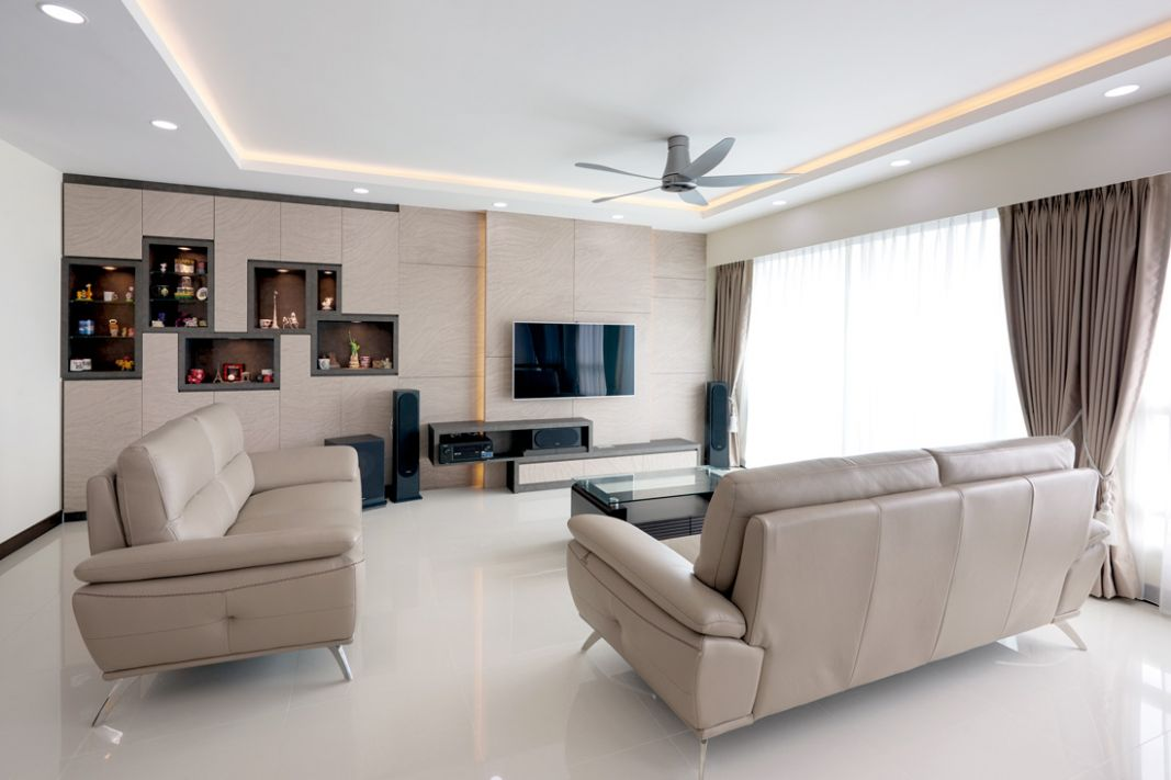 A Room Hdb Bto Flat With Chic Contemporary Look Looks For Living ..