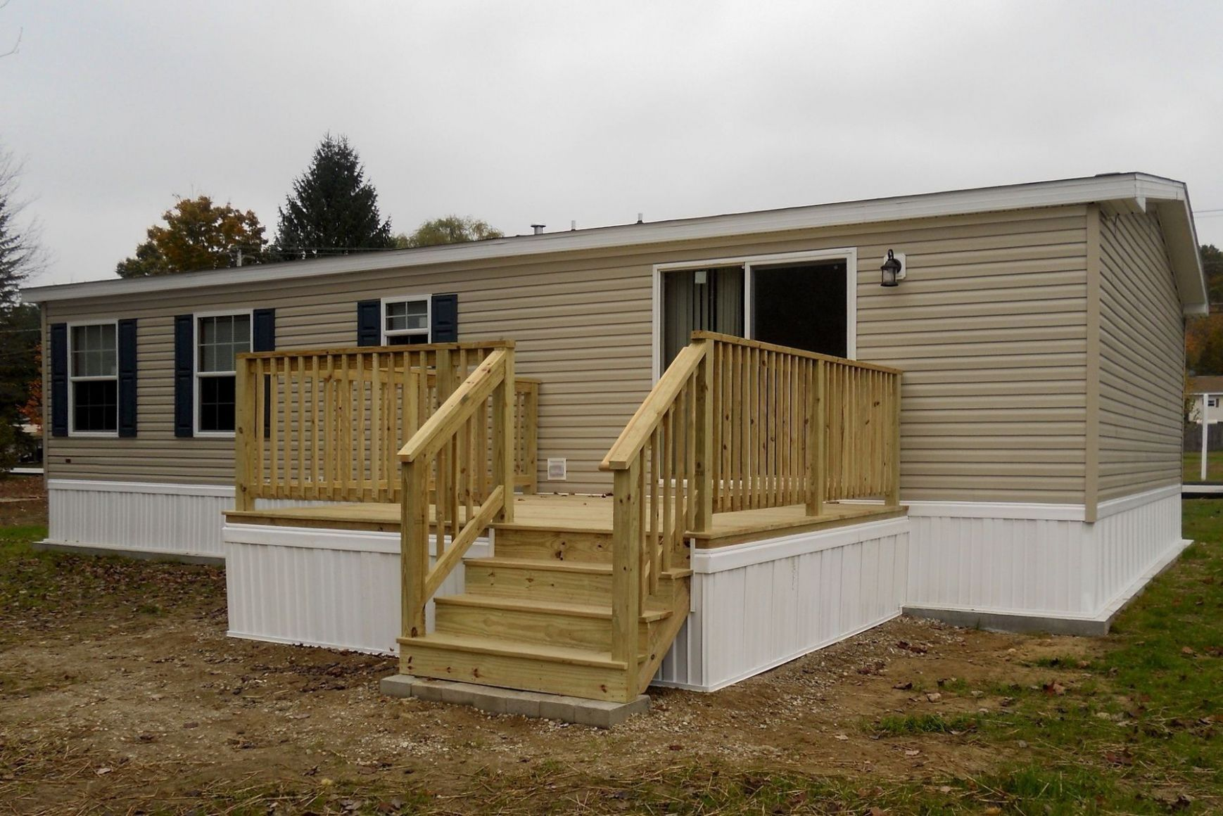 A Simple Guide To Patio Ideas For Mobile Homes BW8js (With images ..