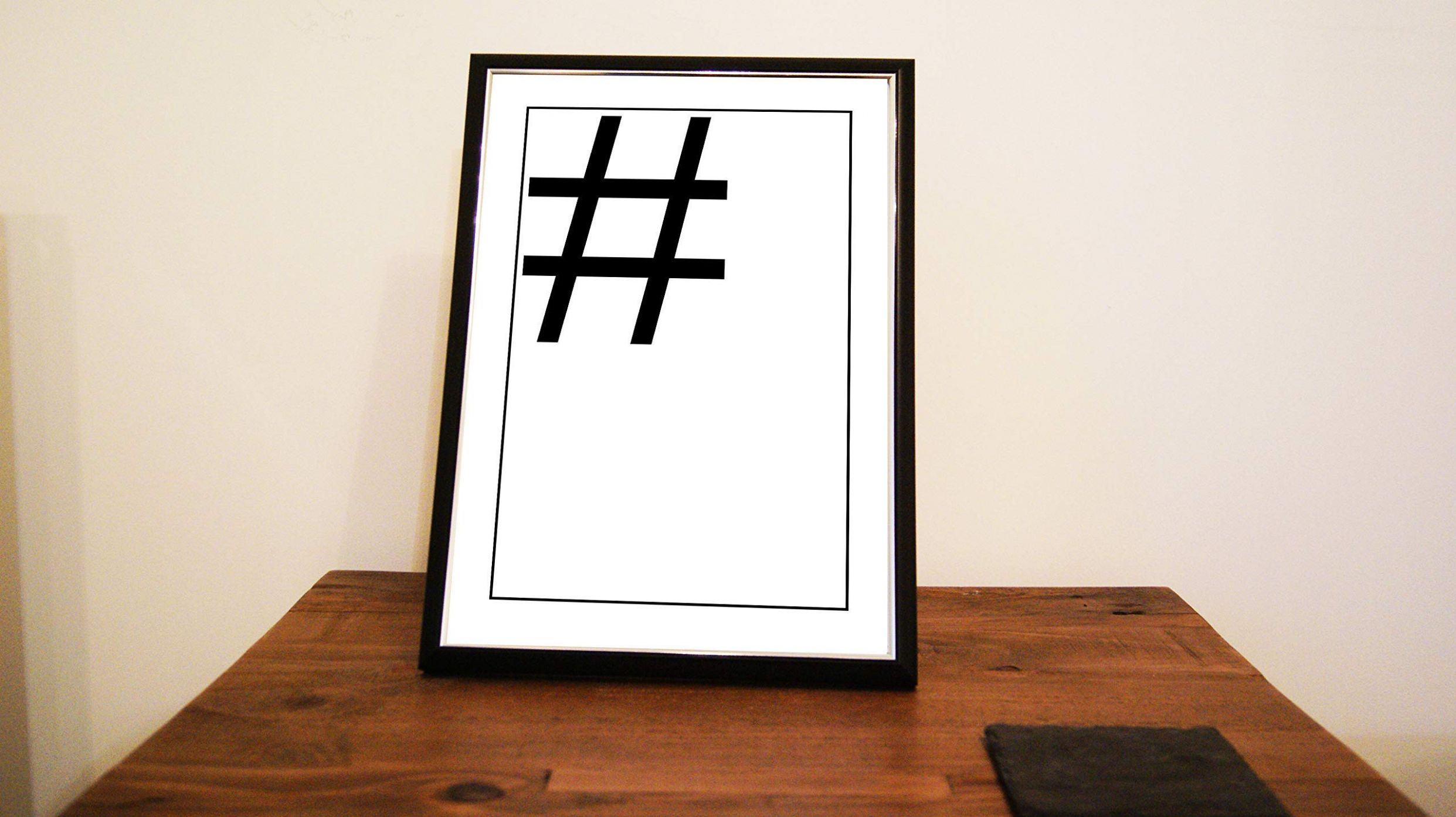 A12/A12 Fashion Print - Hashtag Teen Bedroom Poster - Salon Picture- Home  Decor - UNFRAMED - home decor hashtags