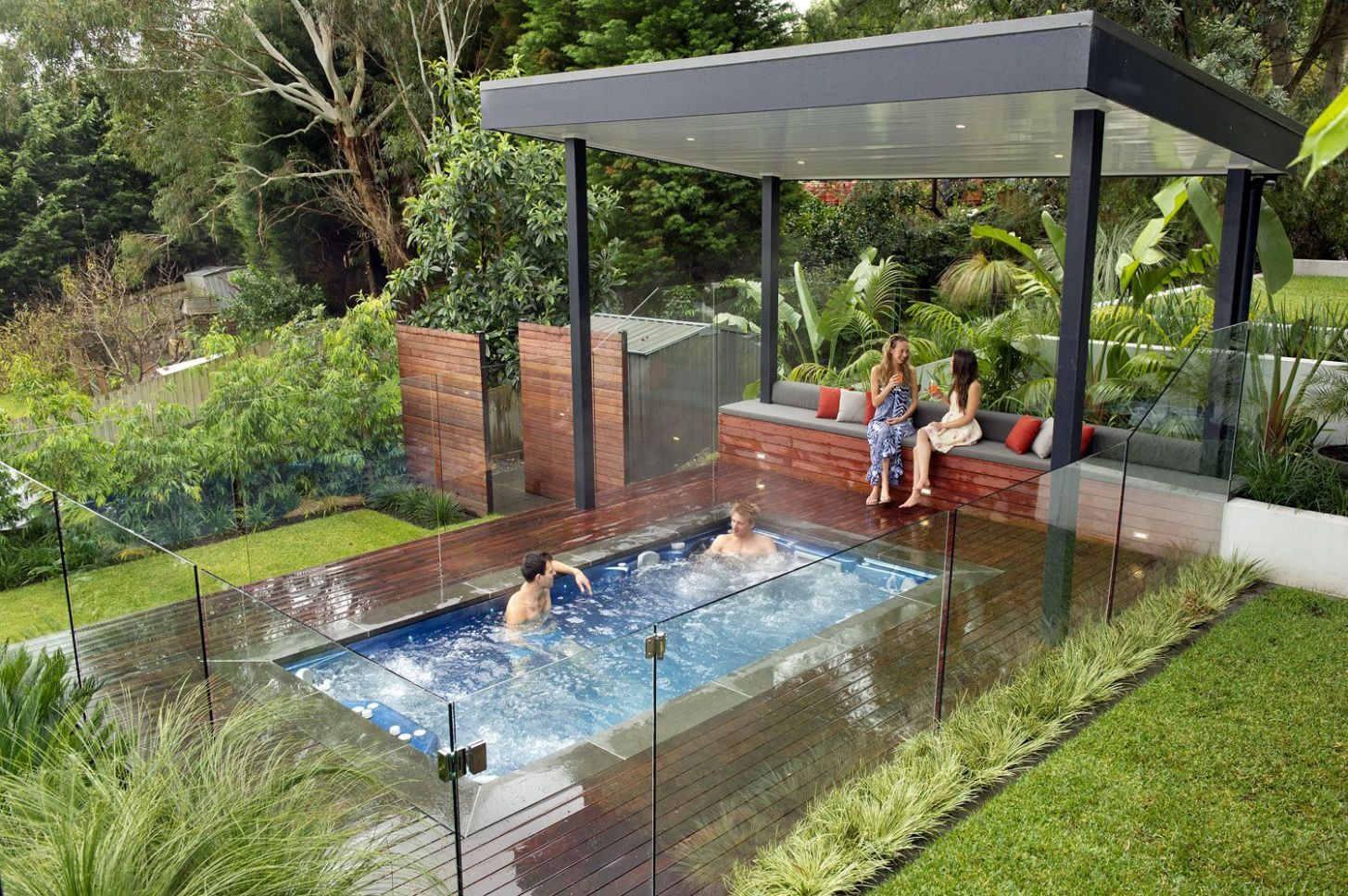 About Us - Endless Pools and Spas | Outdoor spa, Swim spa ...