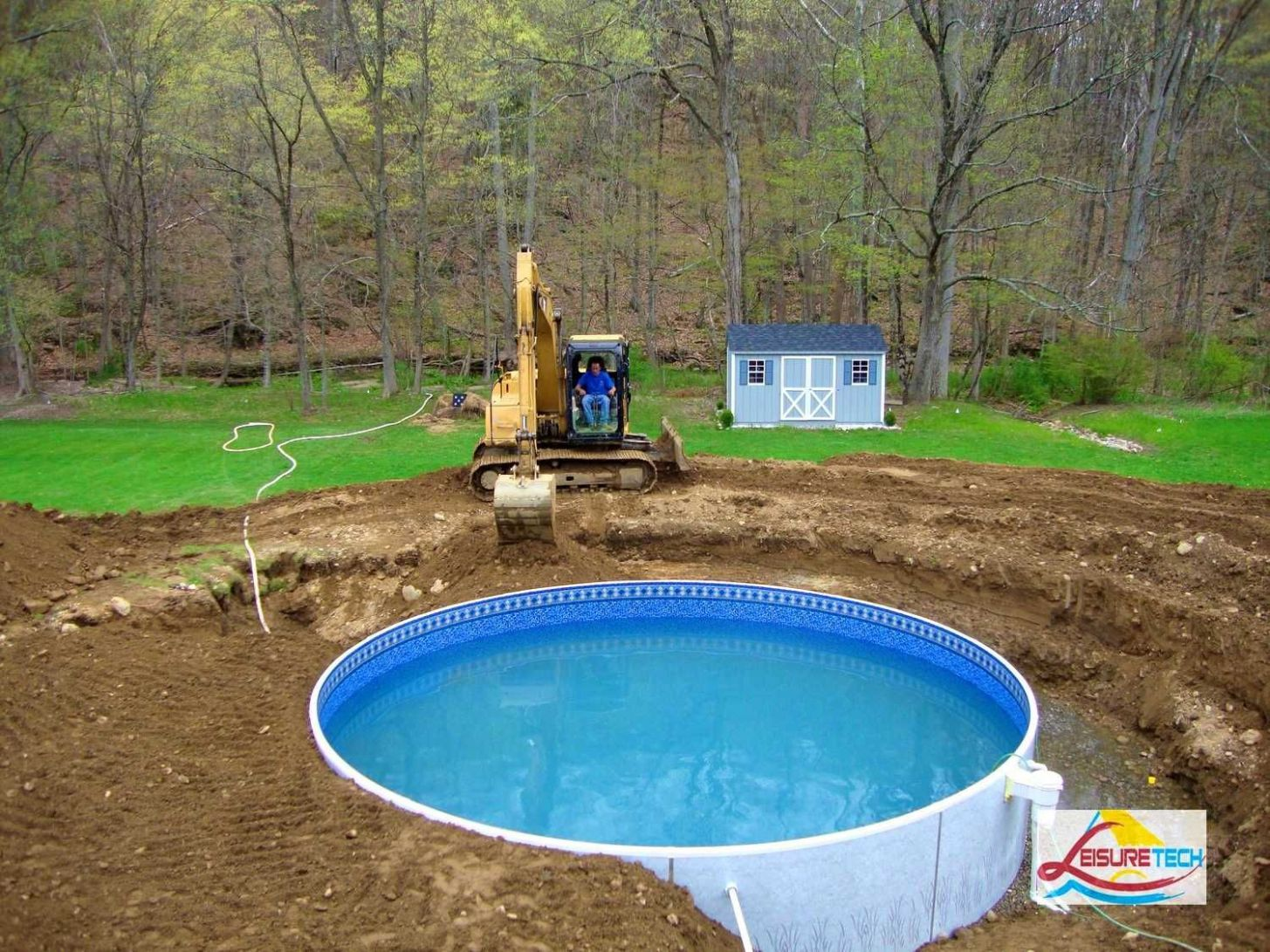 Above Ground Pool Landscaping Ideas on a Budget | Above ground ..