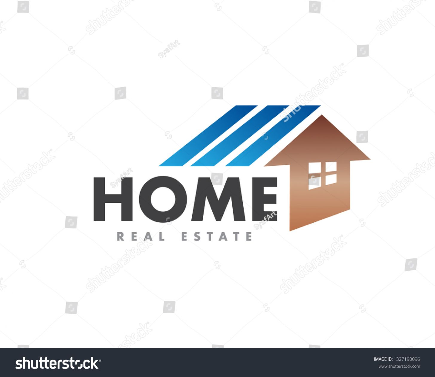 Abstract House Logo Design Inspiration Stock Vector (Royalty Free ...