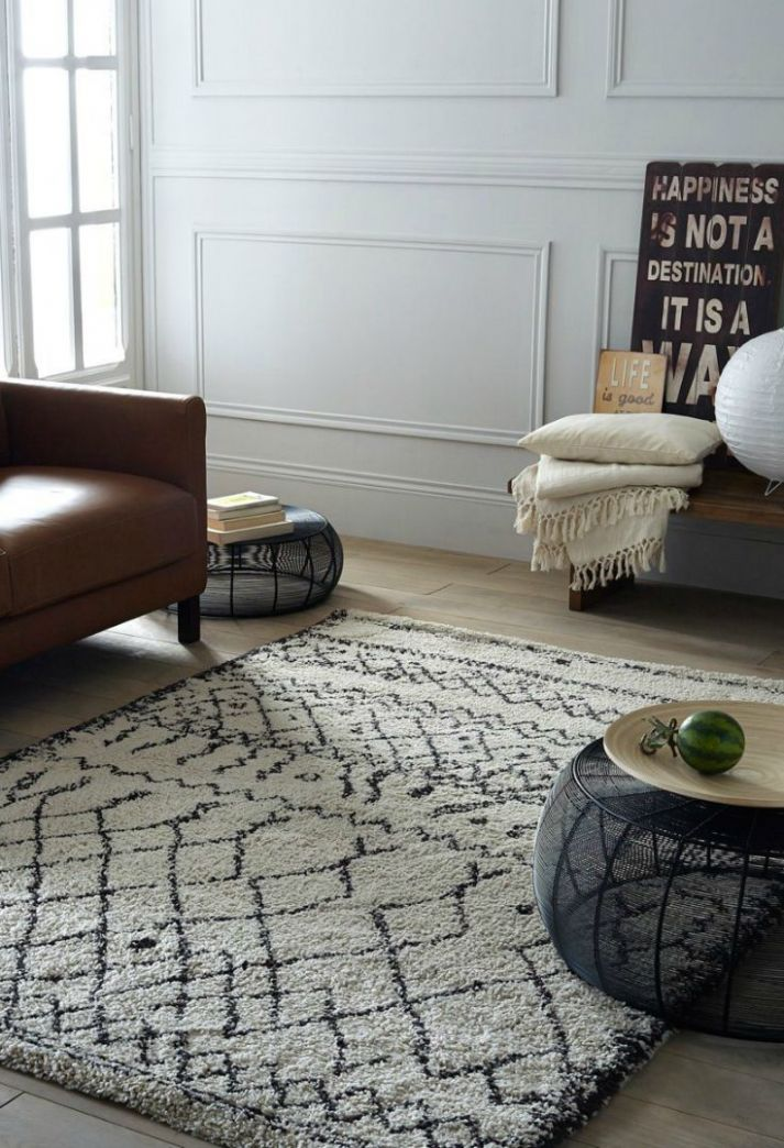 Afaw Shaggy Rug in 8 Sizes | Rugs in living room, Large living ...