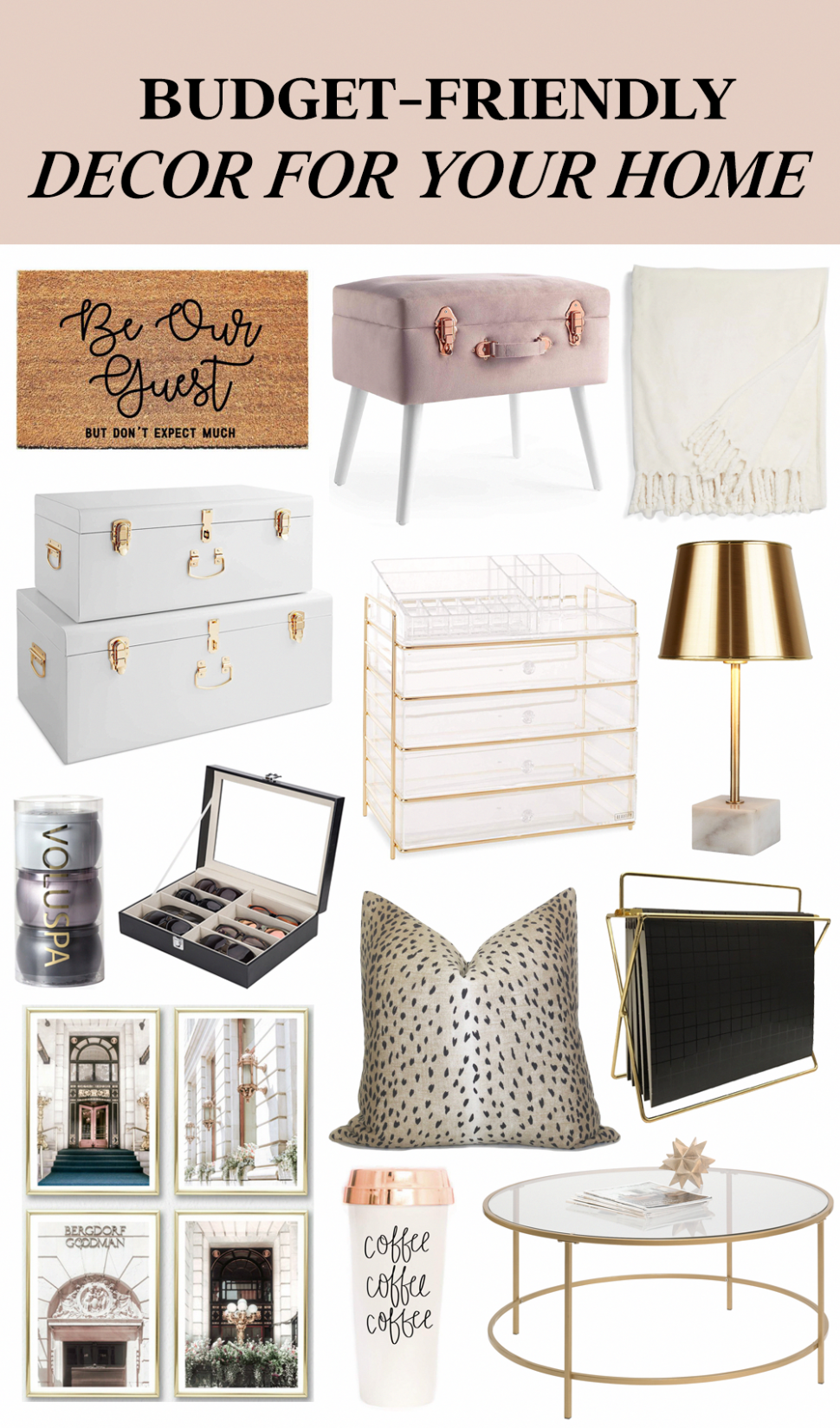 Affordable Home Decor | Budget-friendly decor for your home or ...