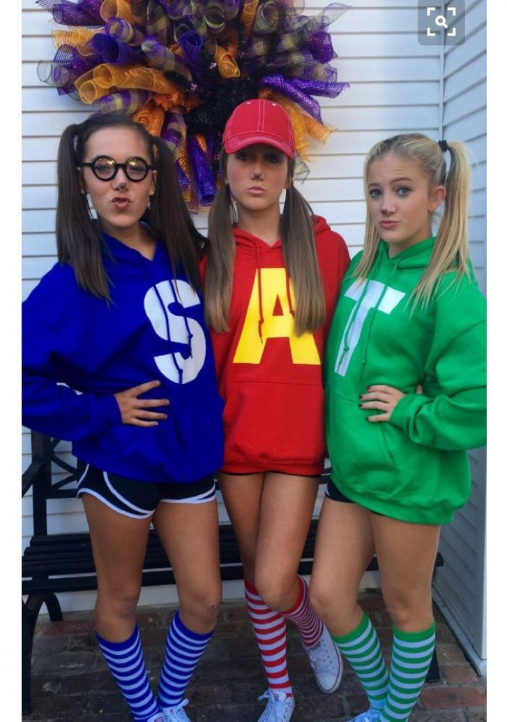 Alvin chipmunks (With images) | Cute halloween costumes, Nerd ..