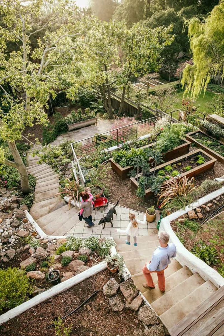Amazing Ideas to Plan a Sloped Backyard That You Should Consider - backyard ideas on a slope
