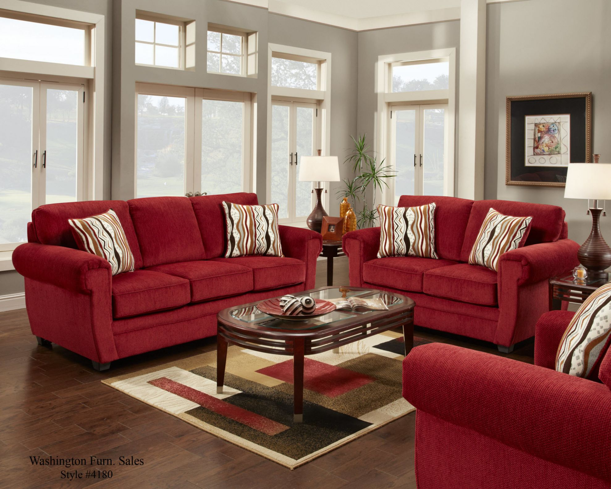 Amazing of Living Room Ideas With Red Sofa with Images About Love ..