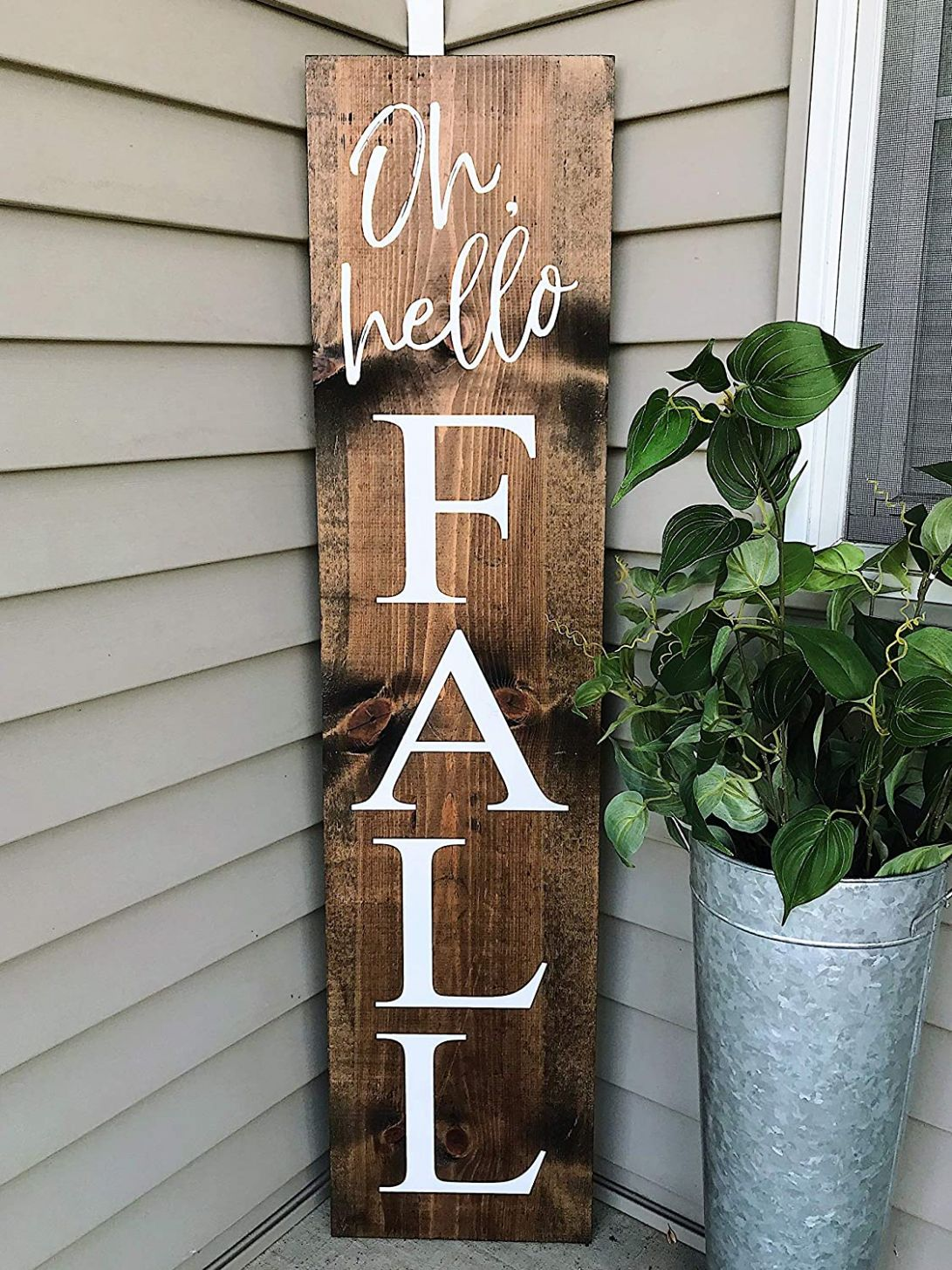 Amazon.com : CELYCASY Fall Signs, Fall Welcome Signs, Welcome ..