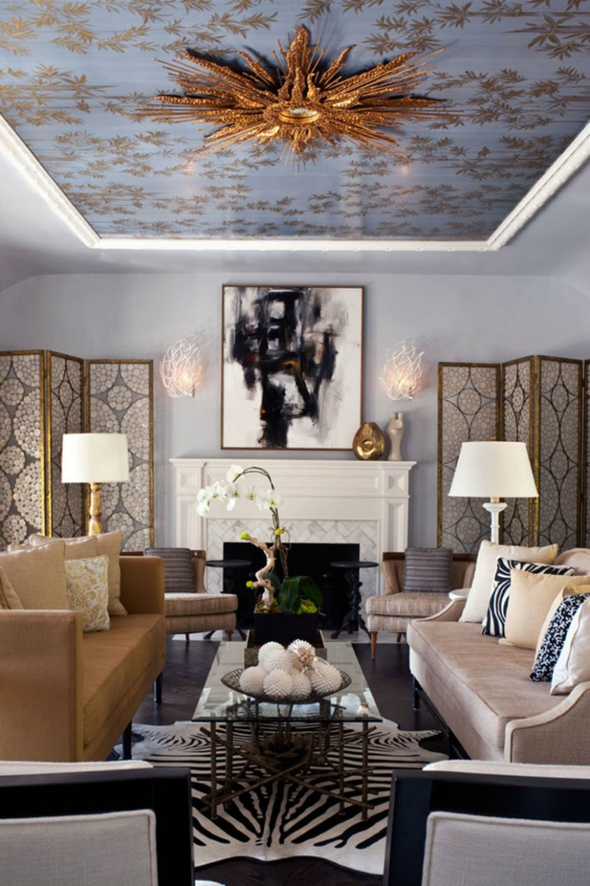 Animal Prints in Luxury Living Rooms - animal house inspiration