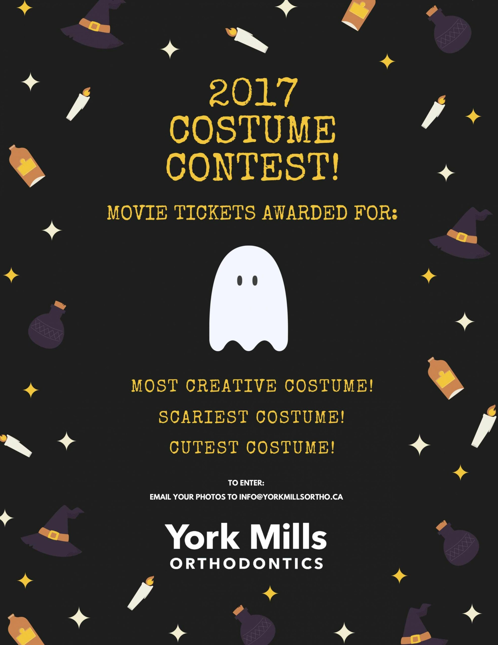 Announcing the Halloween Costume Contest! | Orthodontist Toronto ..