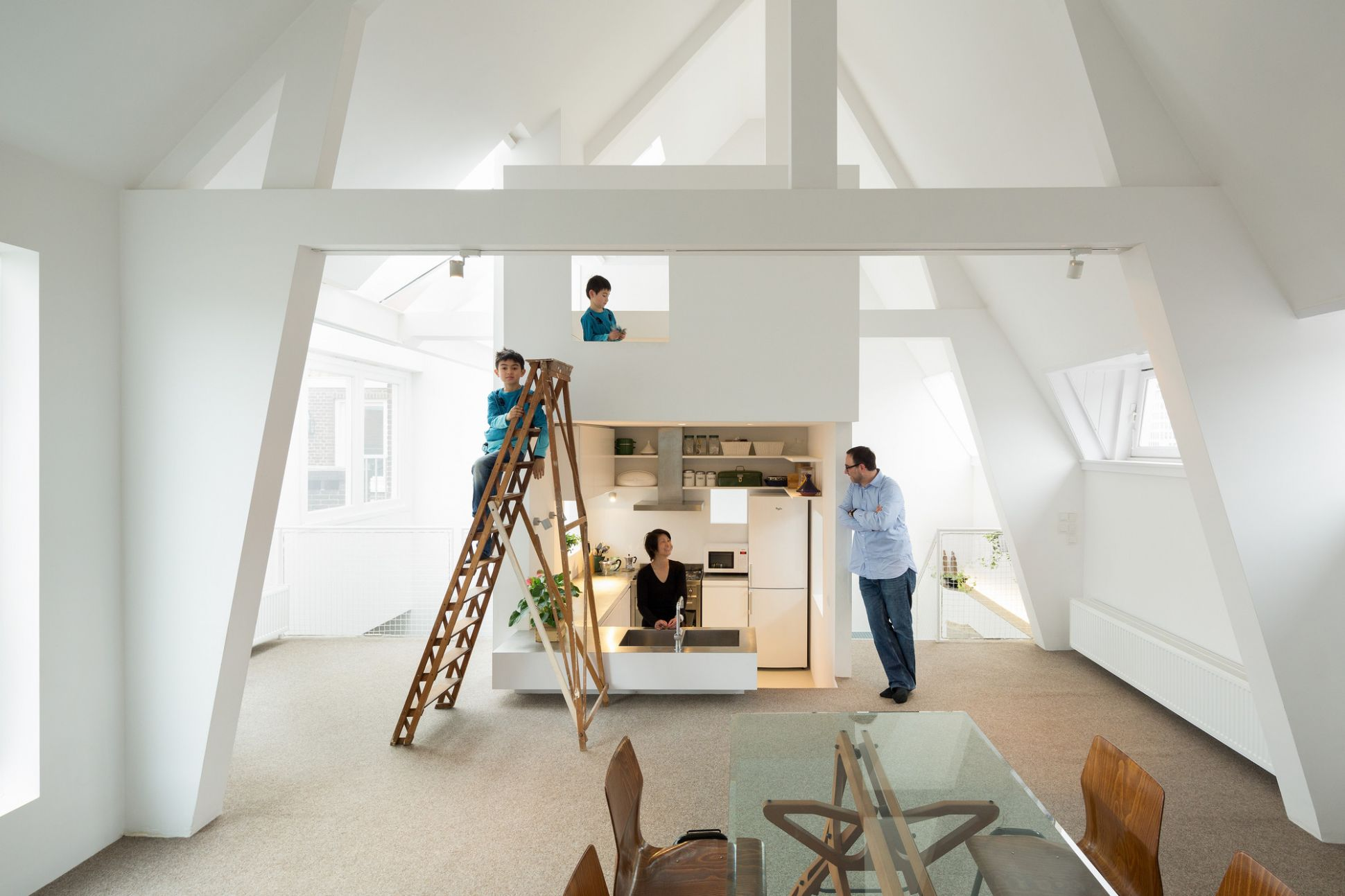 Apartment in Amsterdam / MAMM Design | ArchDaily - apartment design archdaily