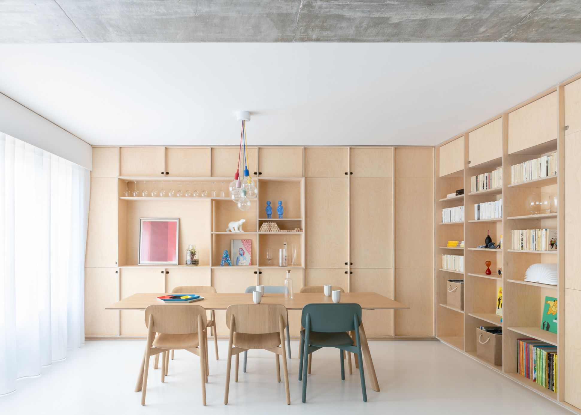 Apartment interiors architecture and design by SABO project in ...