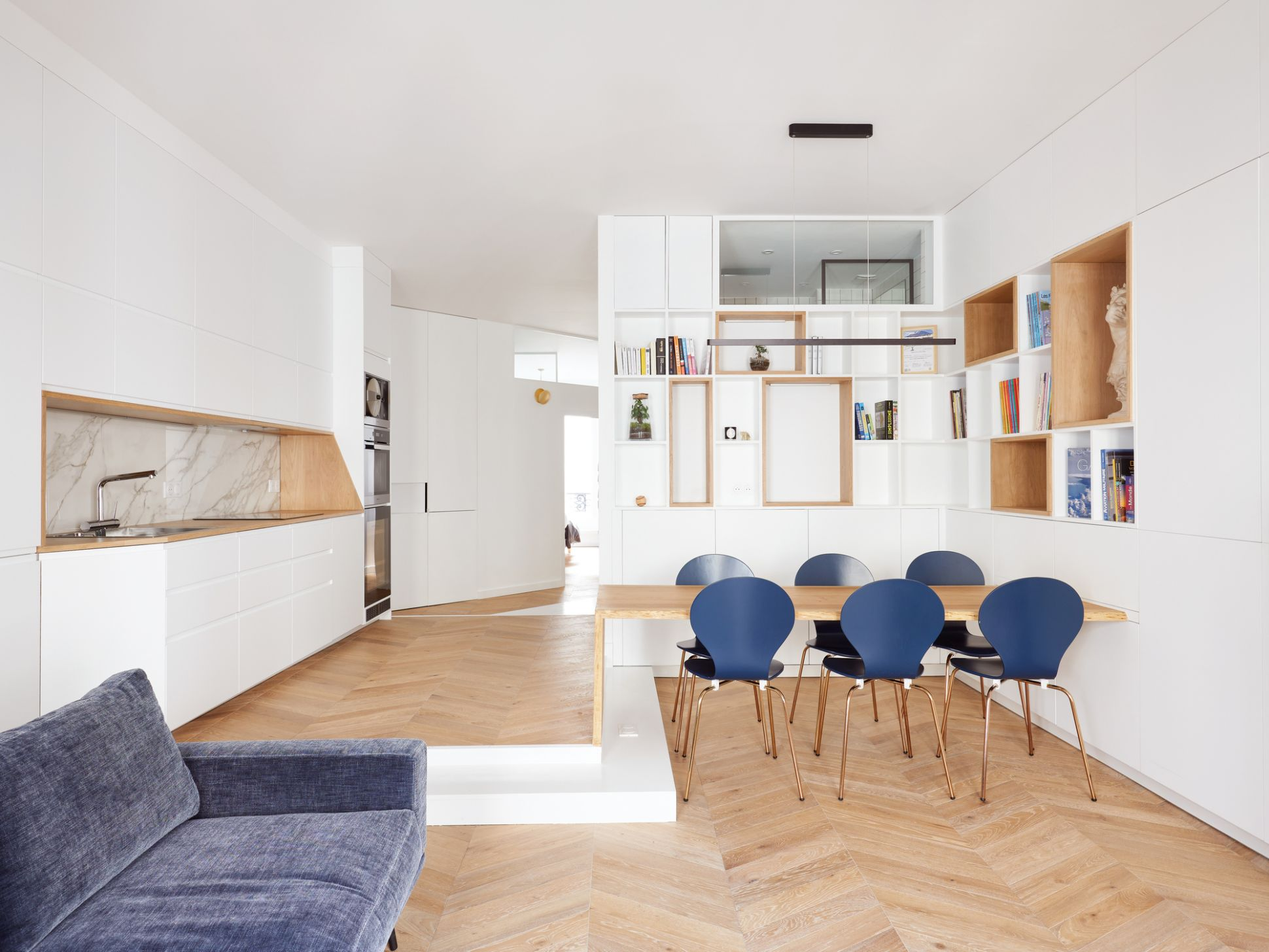 Apartment interiors architecture and design in France | ArchDaily