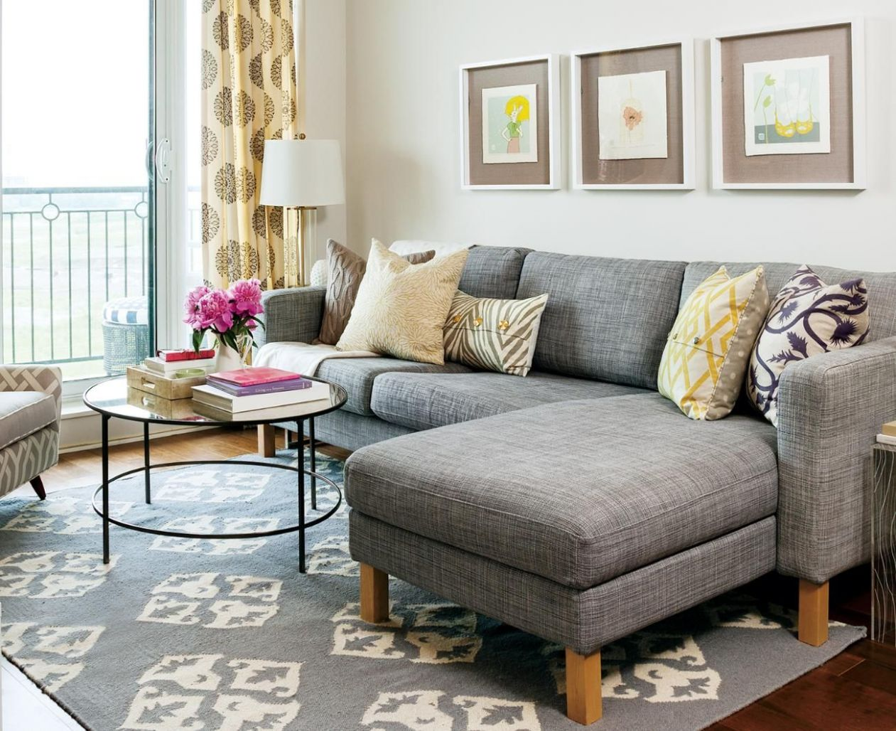 Apartment tour: Colourful rental makeover (With images) | Living ...