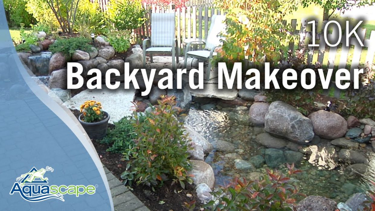 Aquascape Designs $11,11 Backyard Makeover - backyard ideas under $10 000