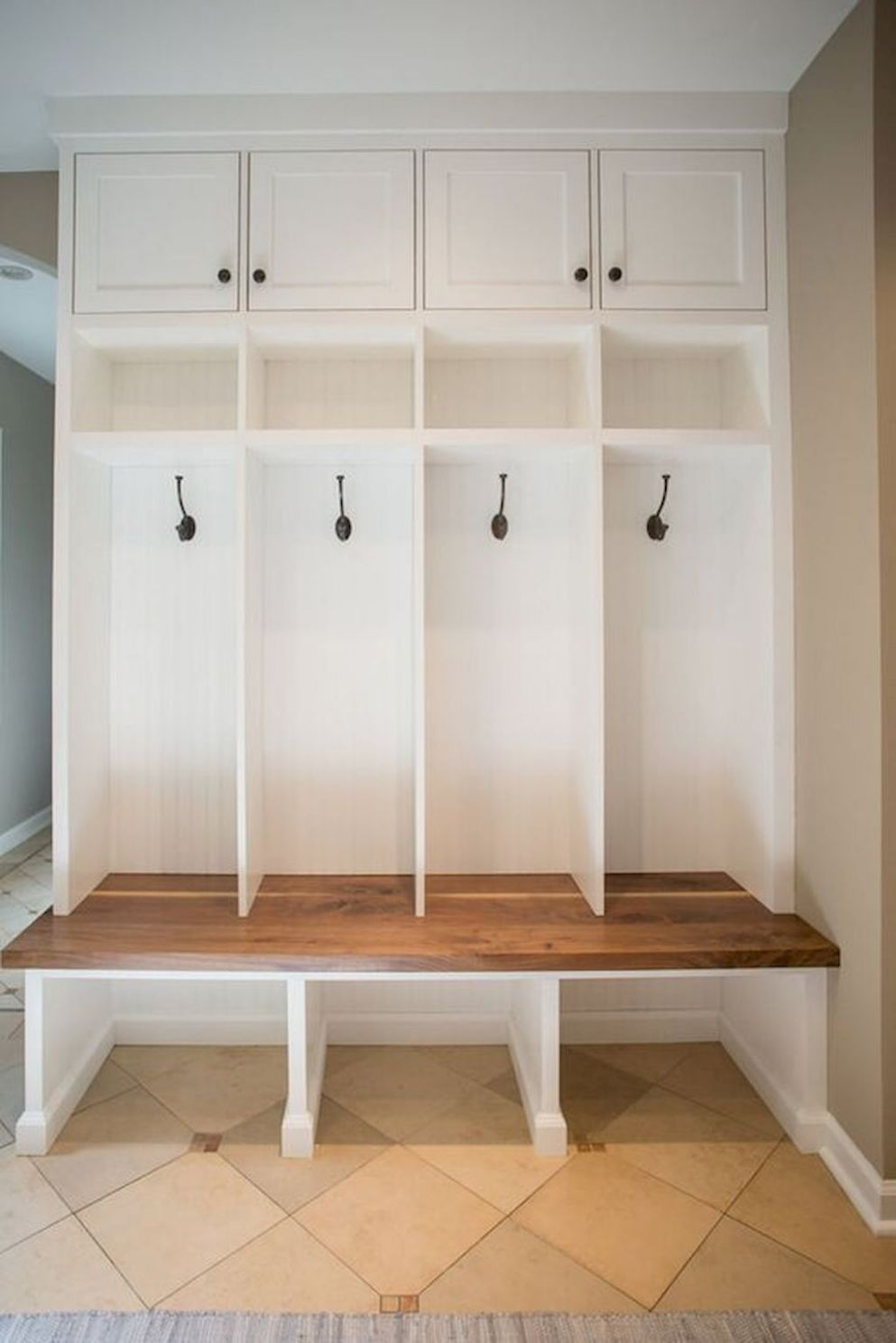 Armhouse mudroom bench ideas (9 (With images) | Mud room storage ..