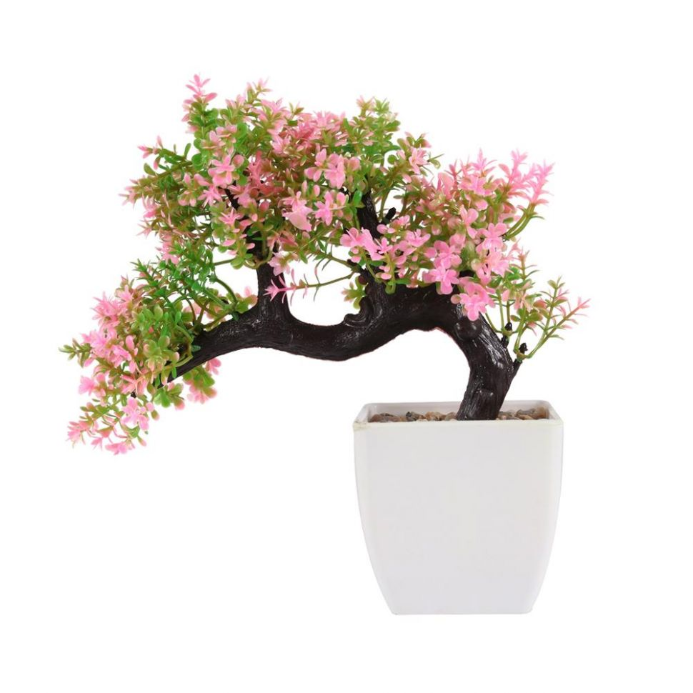 Artificial Wholesale Pine Bonsai Flower Tree For Home Decor - Buy ..