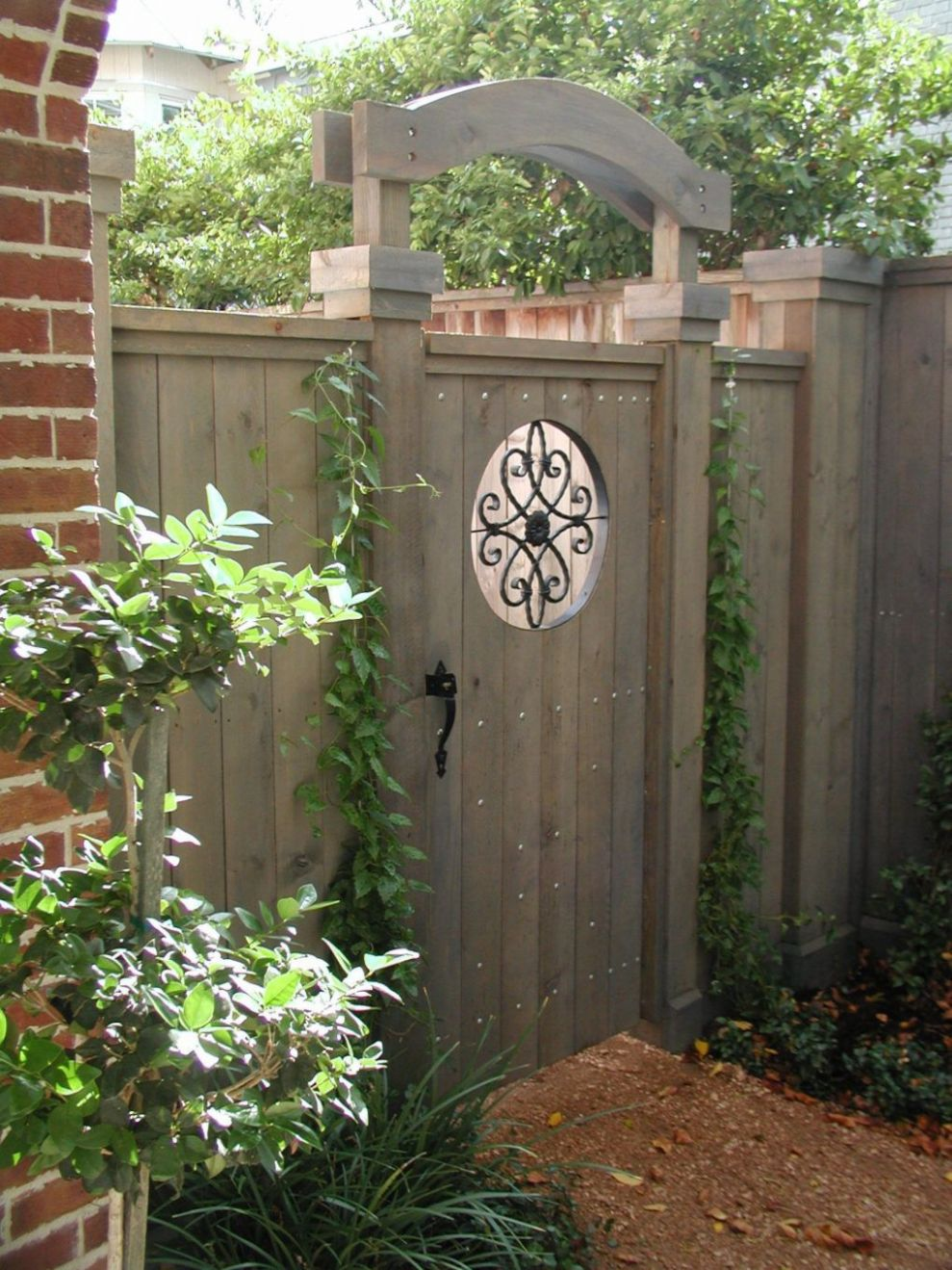 Astonishing Backyard Entrance Ideas (With images) | Garden gate ...