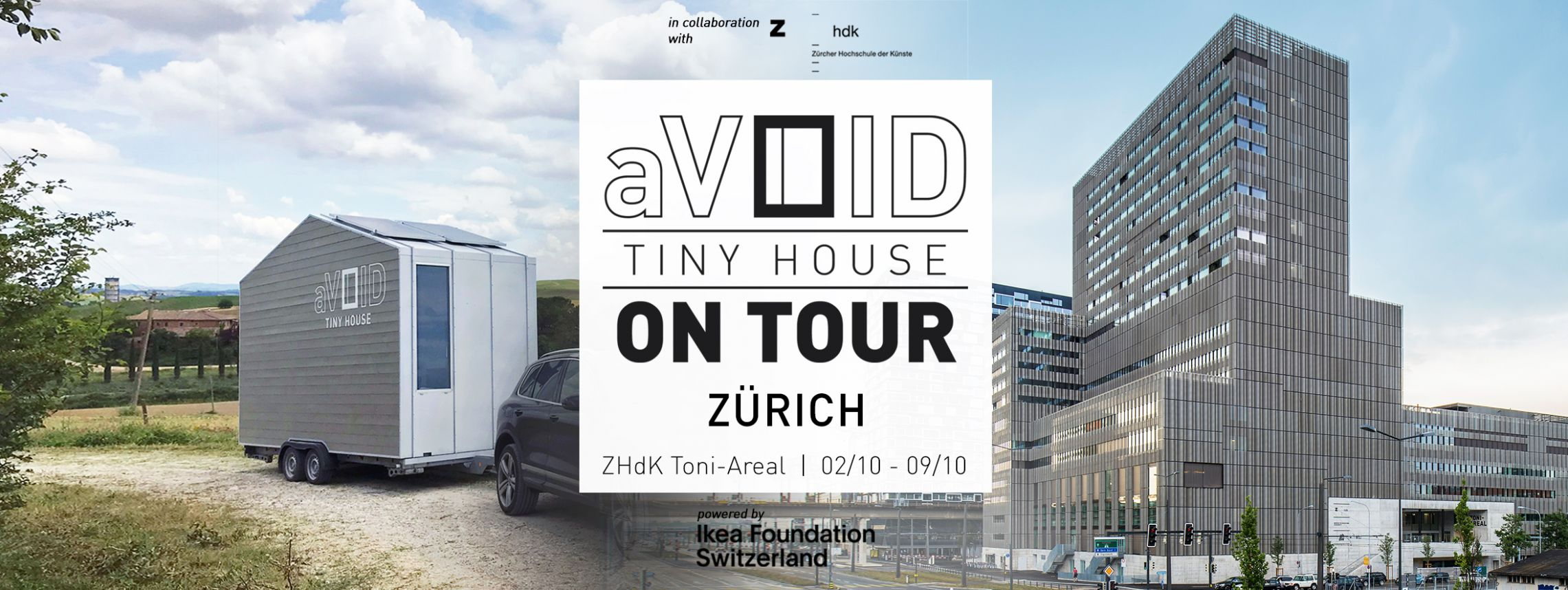 aVOID Tour Zurich Cover - Leonardo Di Chiara