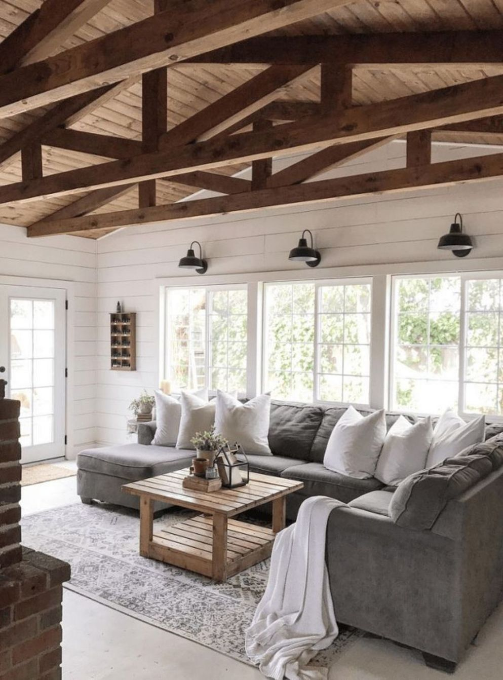 Awesome 8 Cozy Modern Rustic Living Room Decor Ideas You Must Try ..