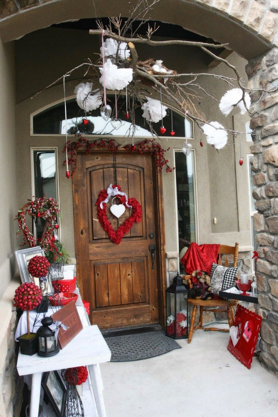 Awesome 8+ Valentines Day Outdoor Decoration Ideas ~ Every ...