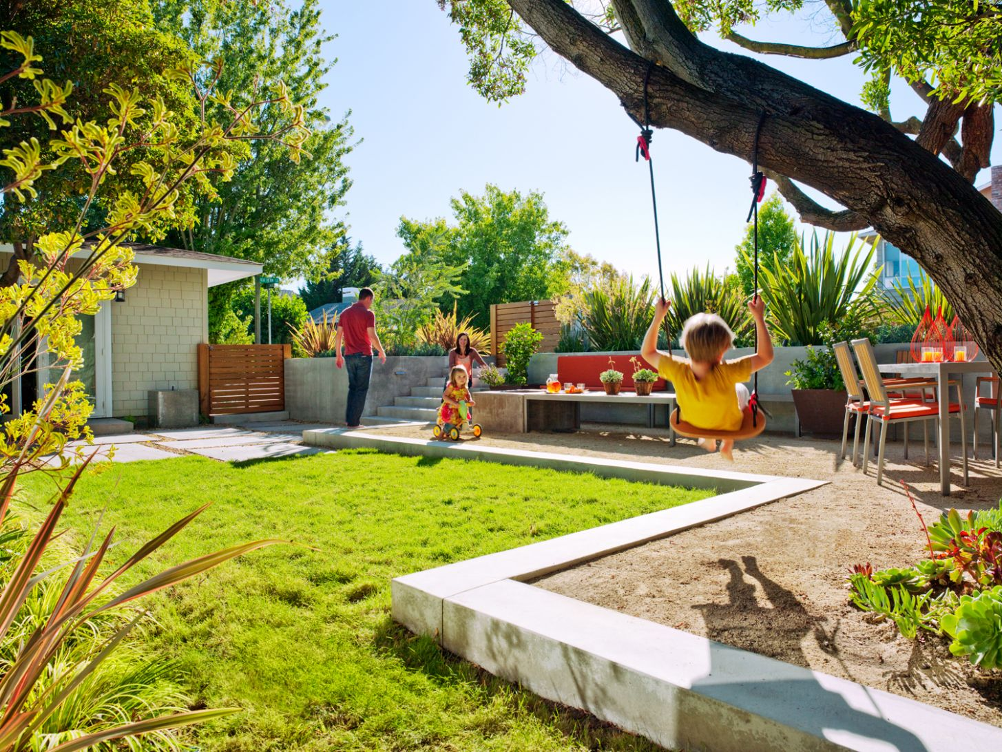Awesome Backyard Ideas for Kids - Sunset Magazine - garden ideas kid friendly
