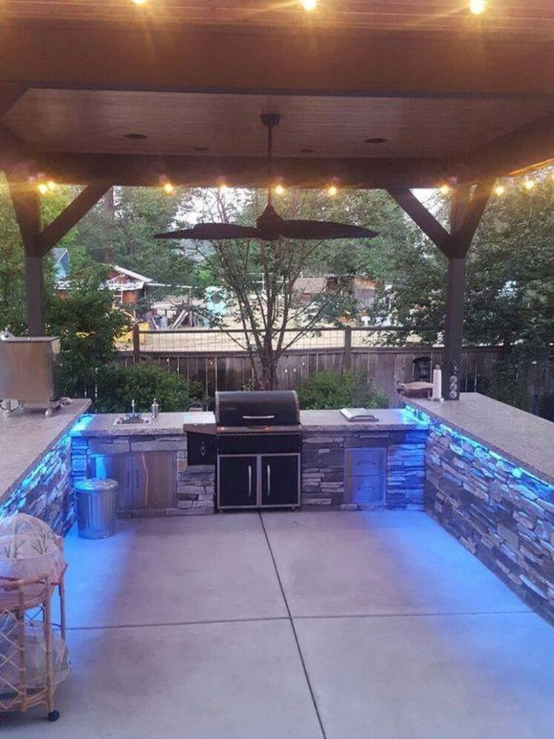 Awesome Grill Designs Ideas For Your Patio 11 - DecOMG - pool grill ideas