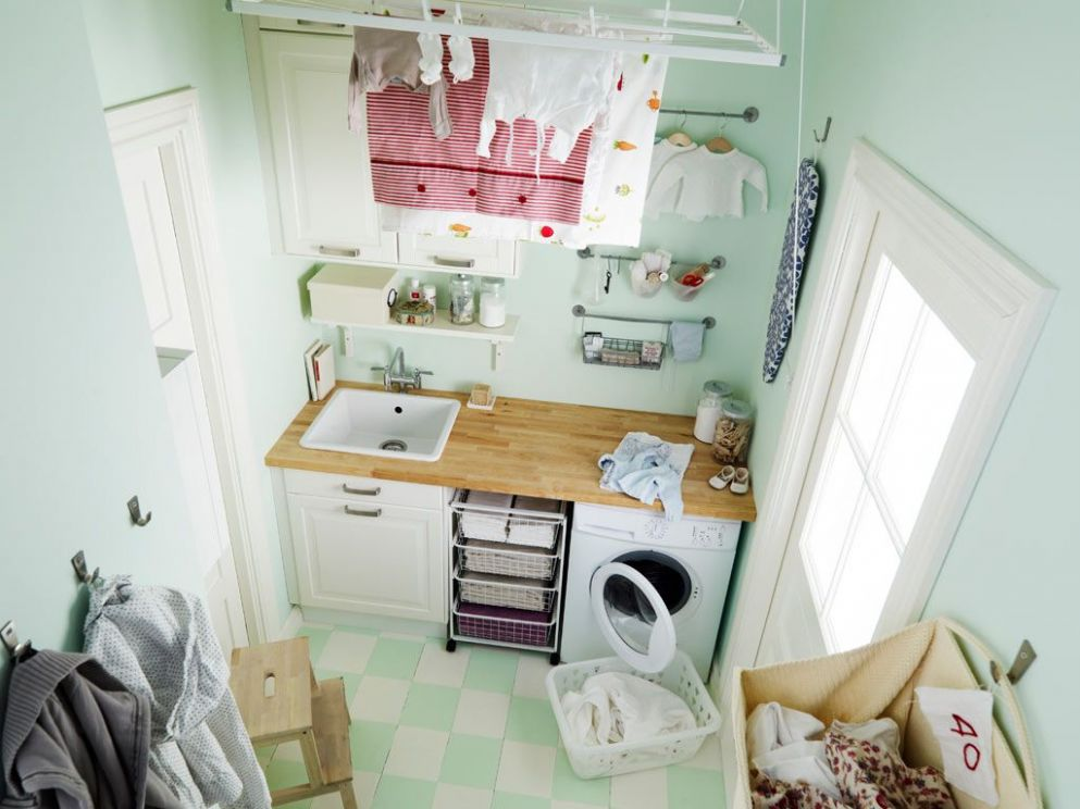 Awesome Ikea Laundry Room 11 I K E A Idea For Small Living Space ..