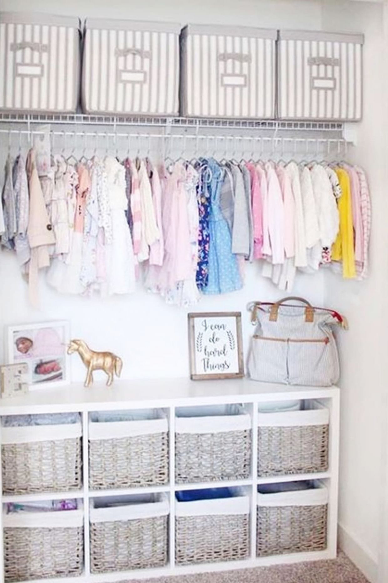 Baby Closet Ideas: 8 Nursery Closet Organization, Storage and ..