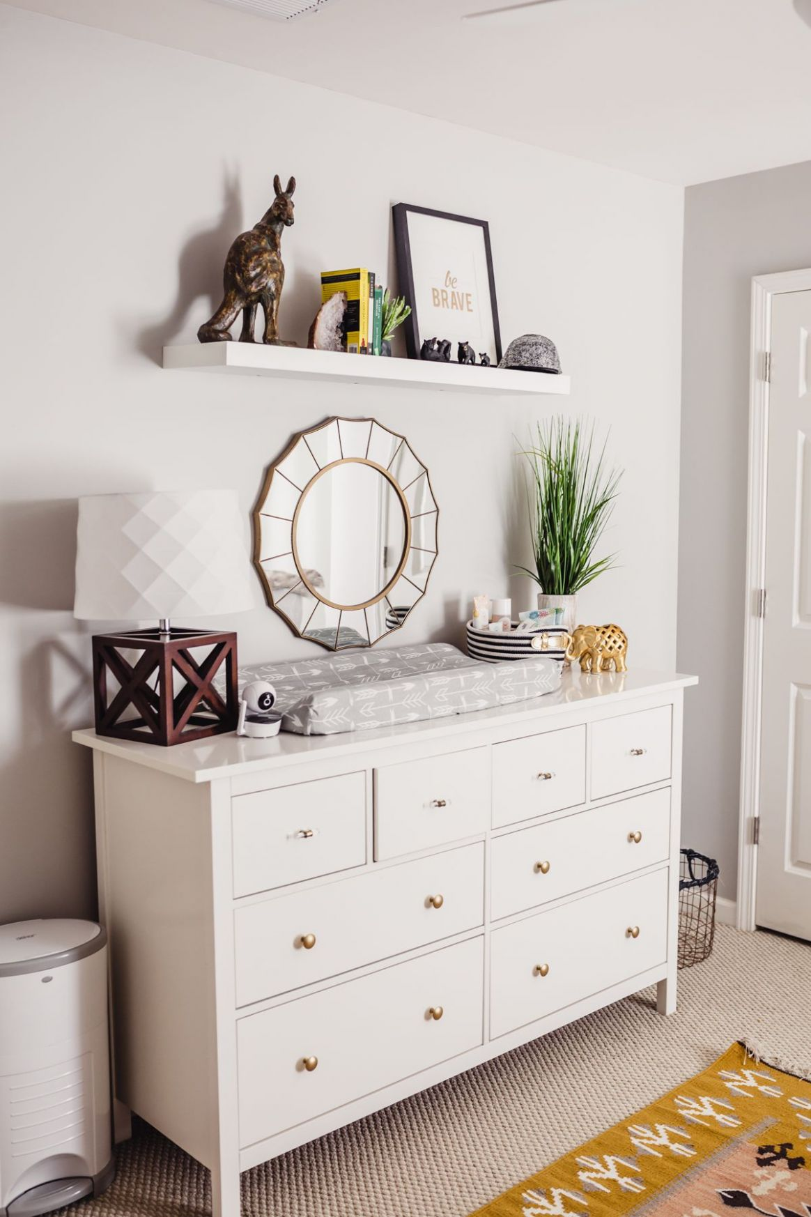 Baby Number 8 (With images)   Nursery dresser decor, Baby room ..