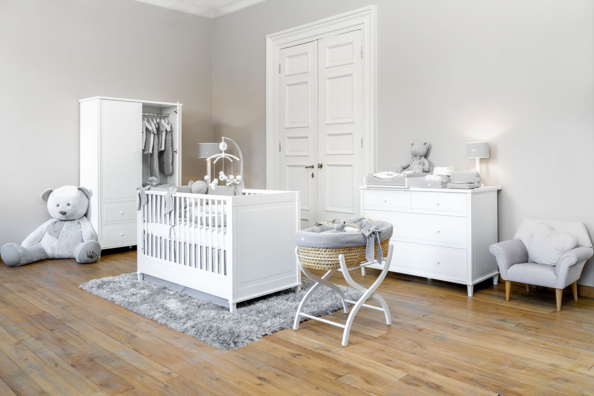 Baby room GIO white Myfirstcollection.