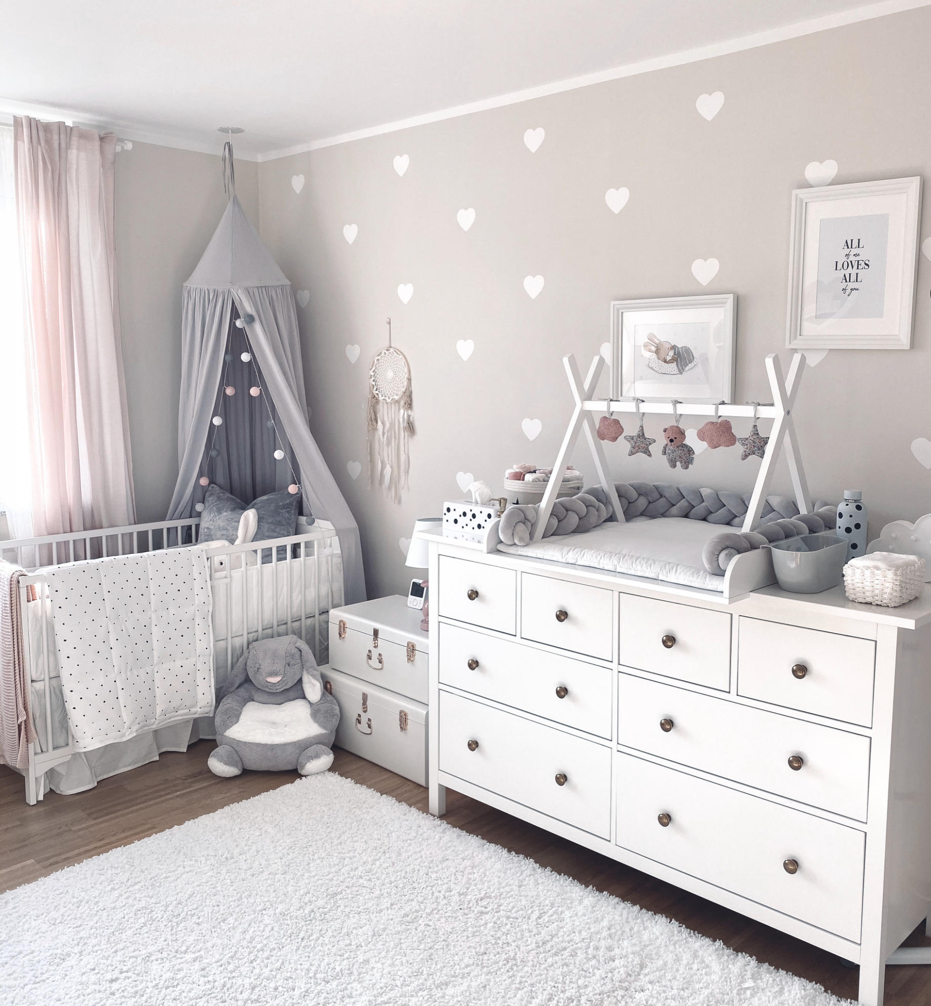 Baby room inspo decoration in 9 | Kinderschlafzimmer, Zimmer ..