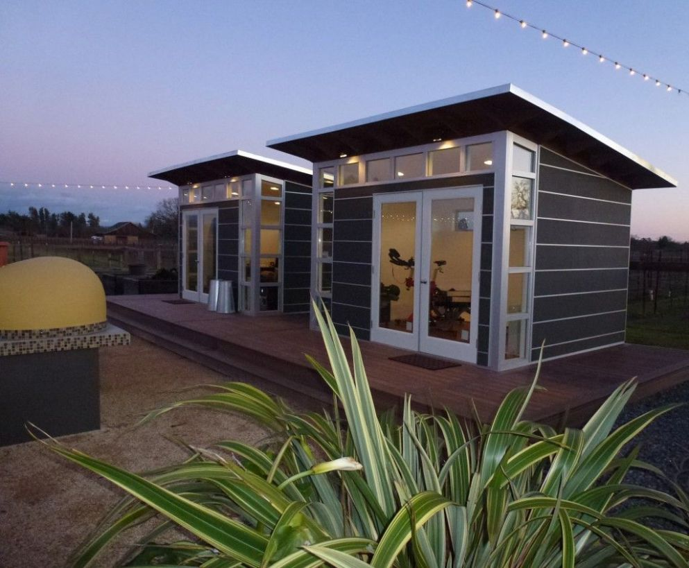 Backyard Home Yoga Studios and Gyms | Backyard studio, Studio shed ..