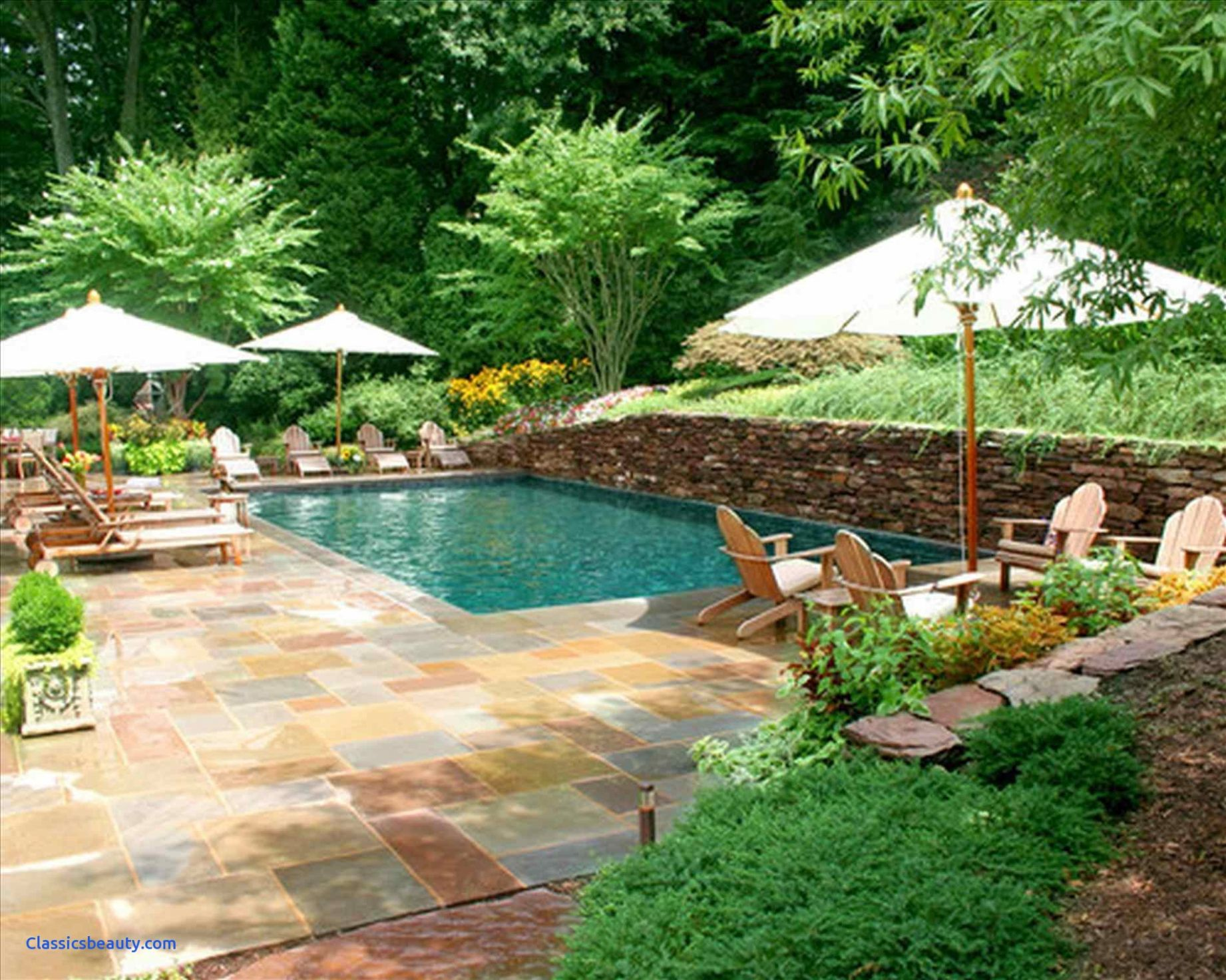 Backyard Spa Designs Unique Small Pool With Hot Tub Ideas Privacy ..