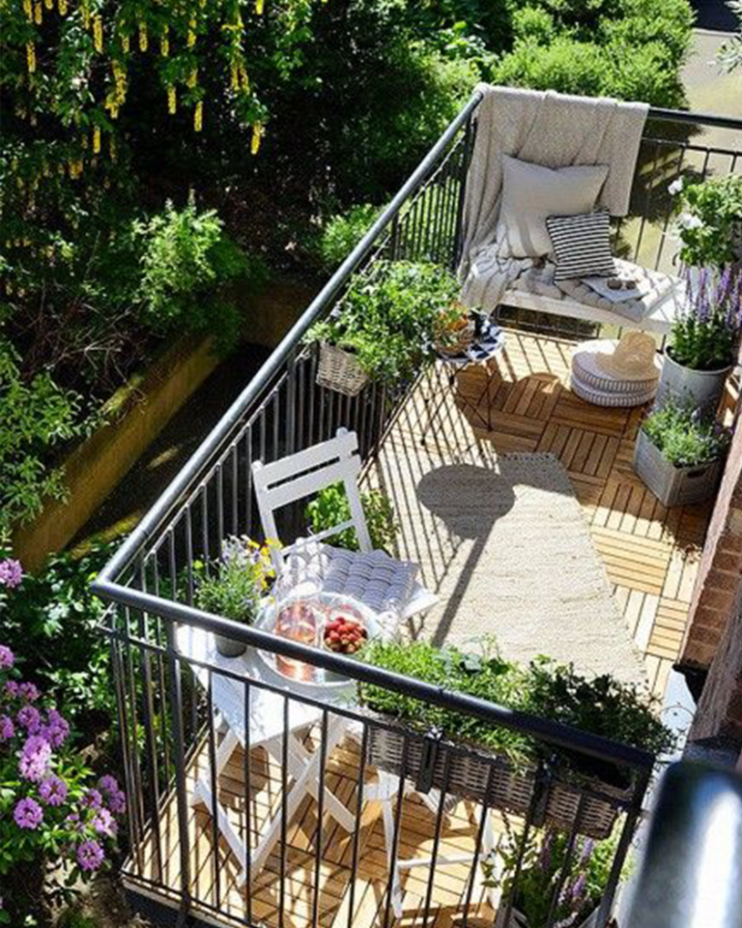 Balcony Garden Ideas to Create a Unique Outdoor Space - Milestone - garden ideas on terrace