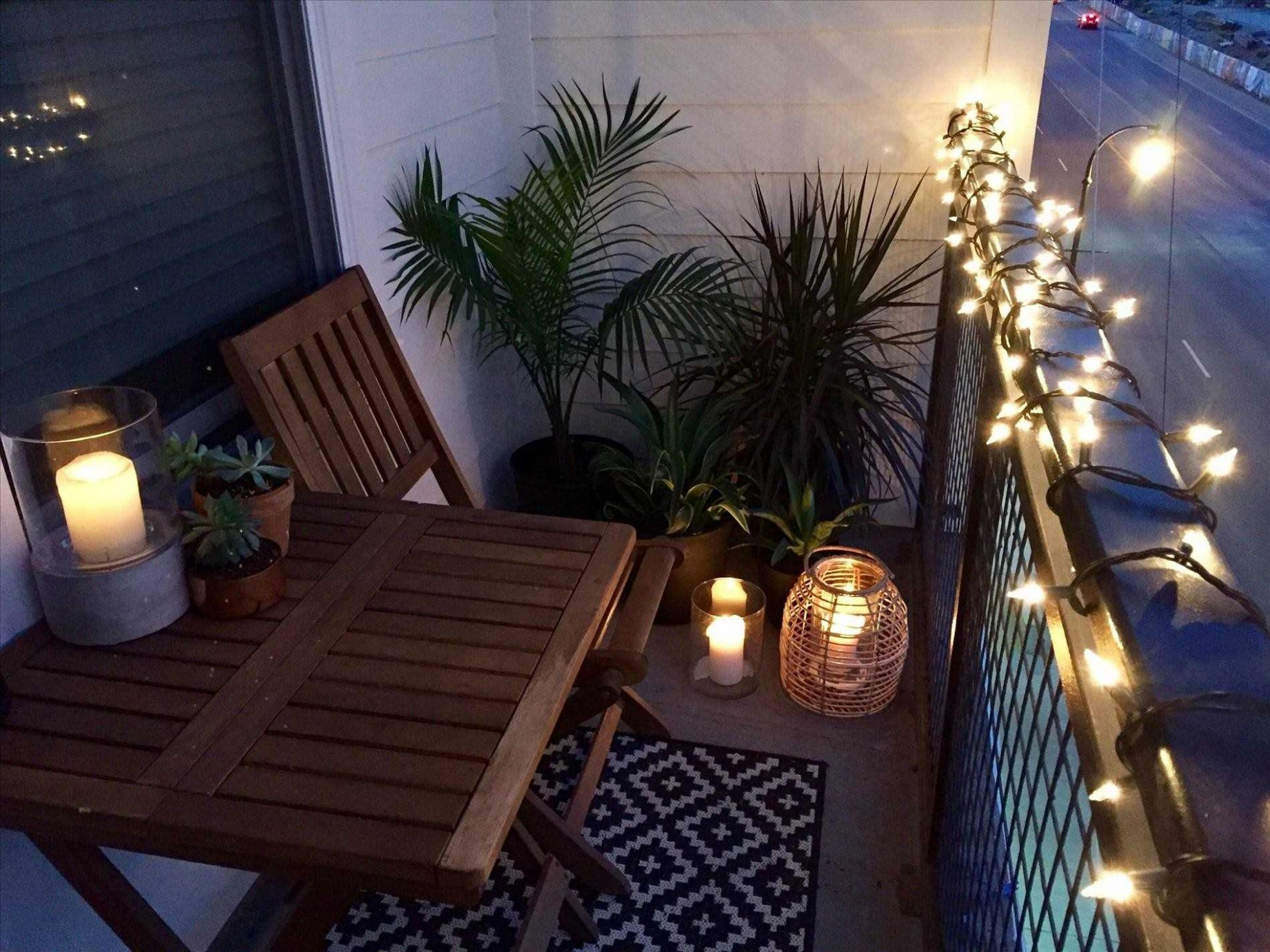 Balcony Lighting Small Apartment Ideas Design Home Depot Decor ...