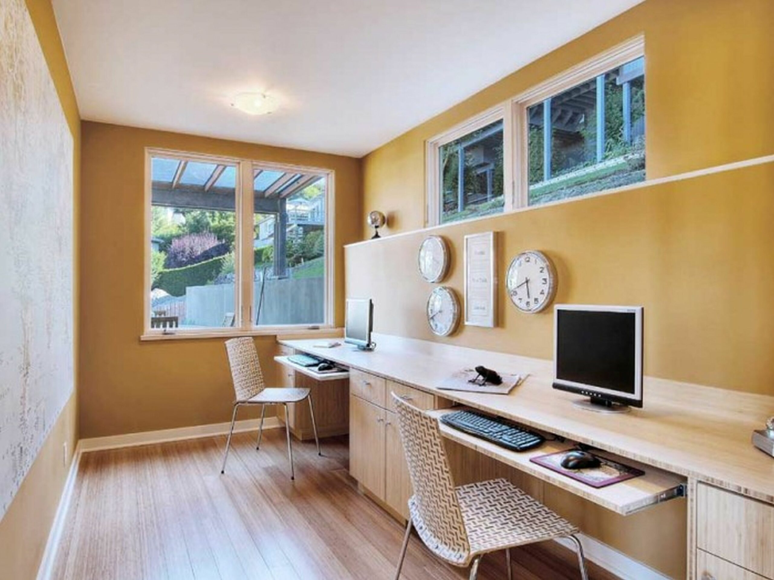 basement home office design ideas - Google Search | Home office ..