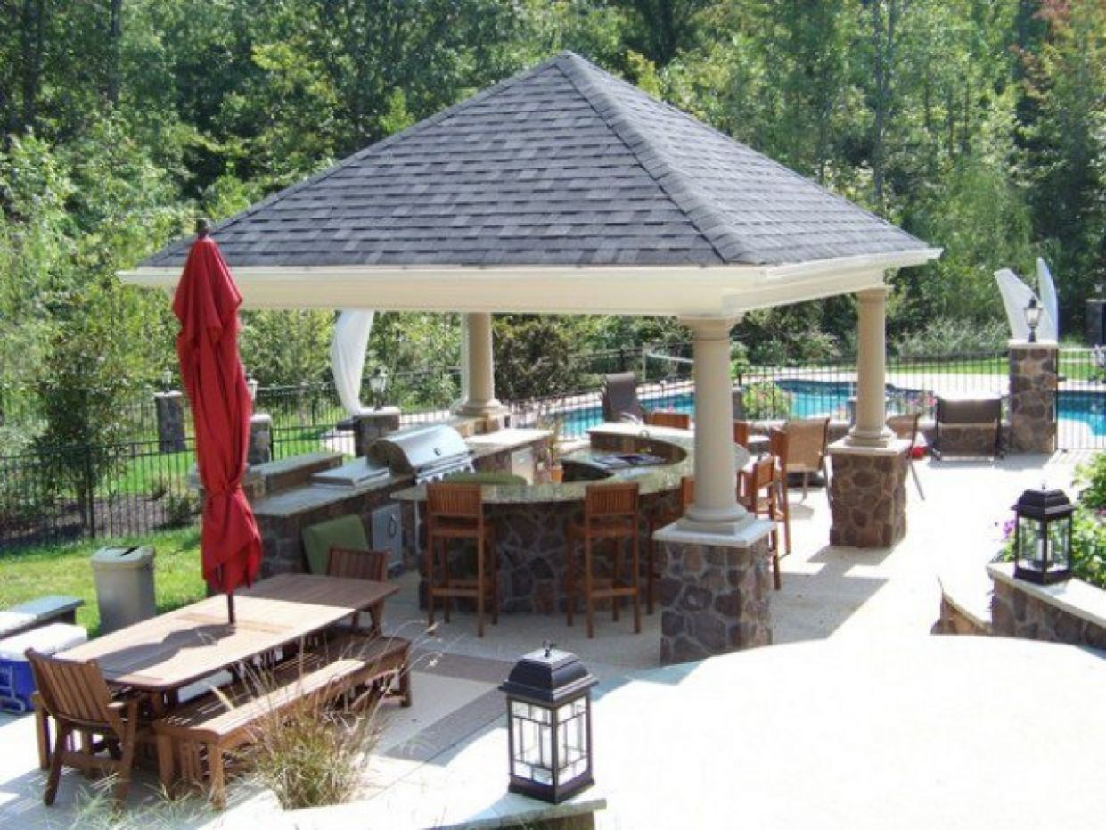 Bbq Outdoor Patio Bar Design Best Covered Ideas Designs Nz With ..