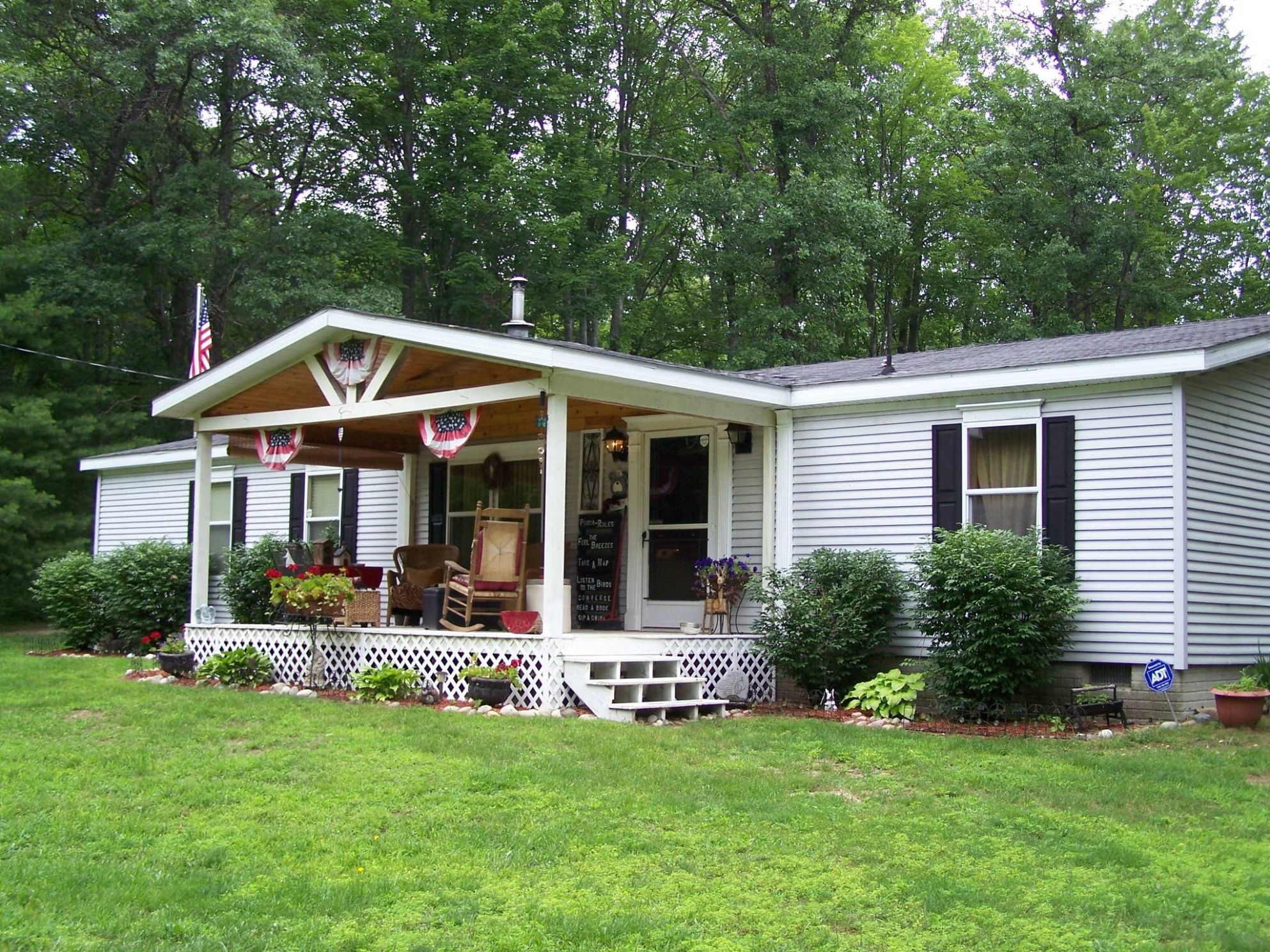Beauty Front Porch Design Mobile Homes - House Plans | #8 - front porch ideas mobile homes