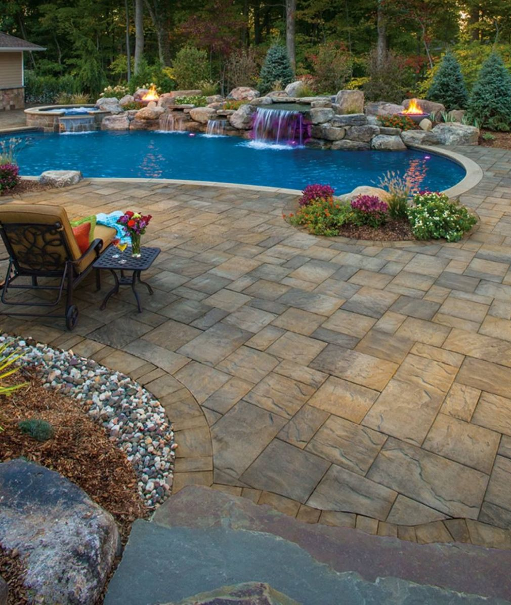 Beauty is in the eye of the beholder. Update your outdoor pool ..