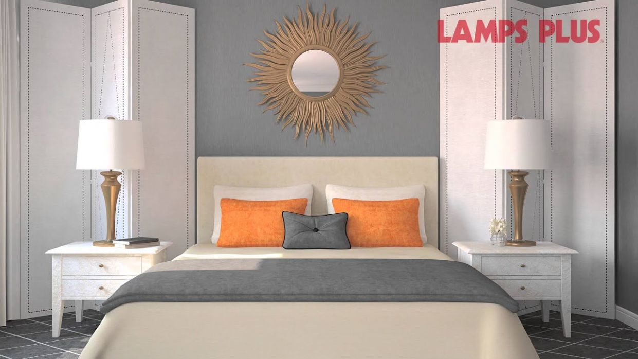 Bedroom Interior Design ideas - Decorating the Wall Behind Your Bed - Lamps  Plus - wall decor ideas behind bed